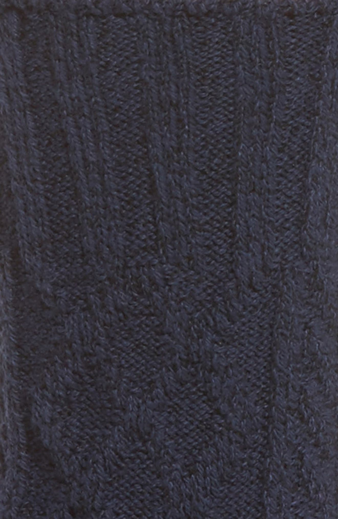 Marled Cable Crew Socks,                             Alternate thumbnail 2, color,                             400