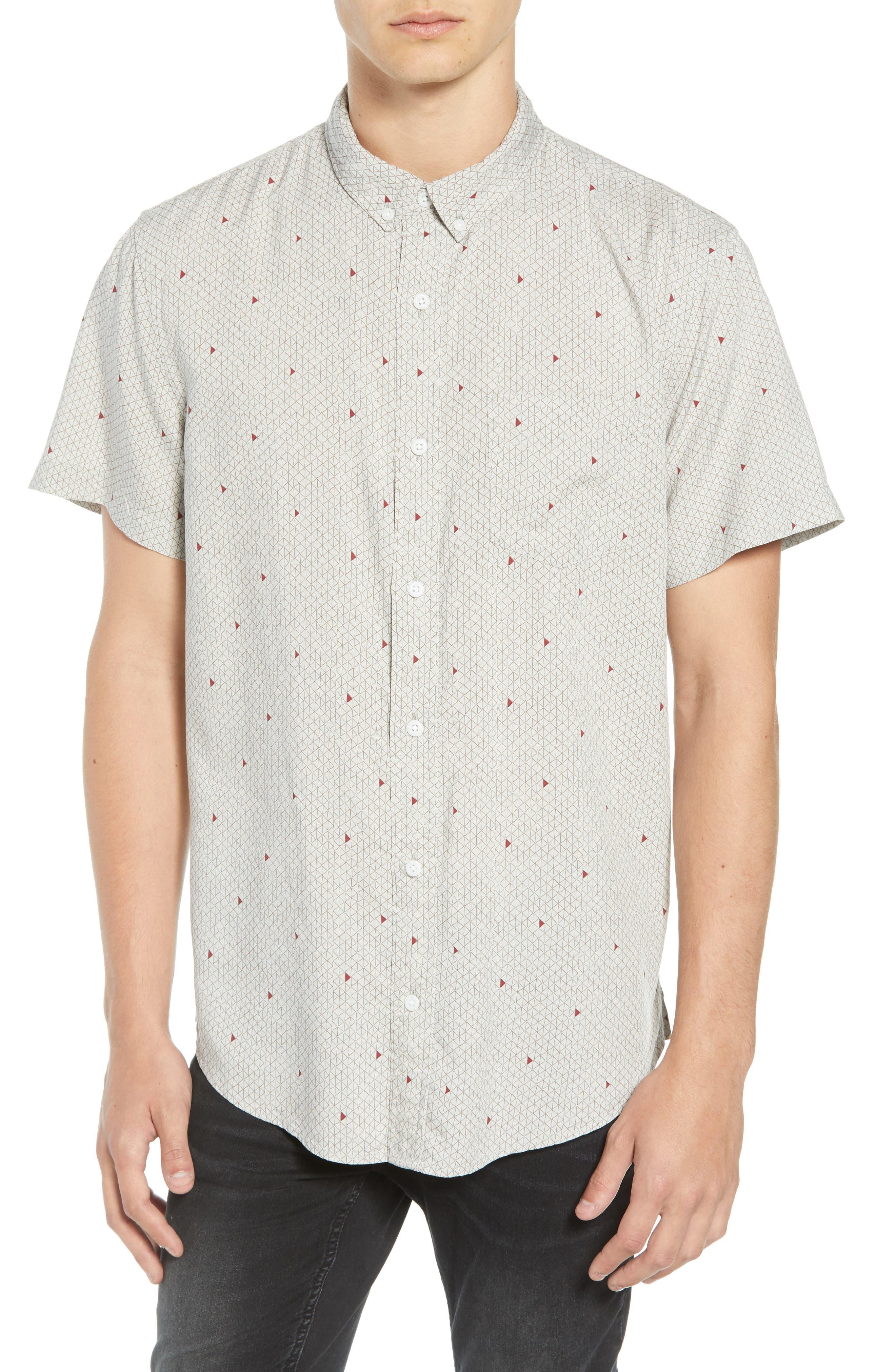 THE RAIL Woven Print Shirt, Main, color, 050