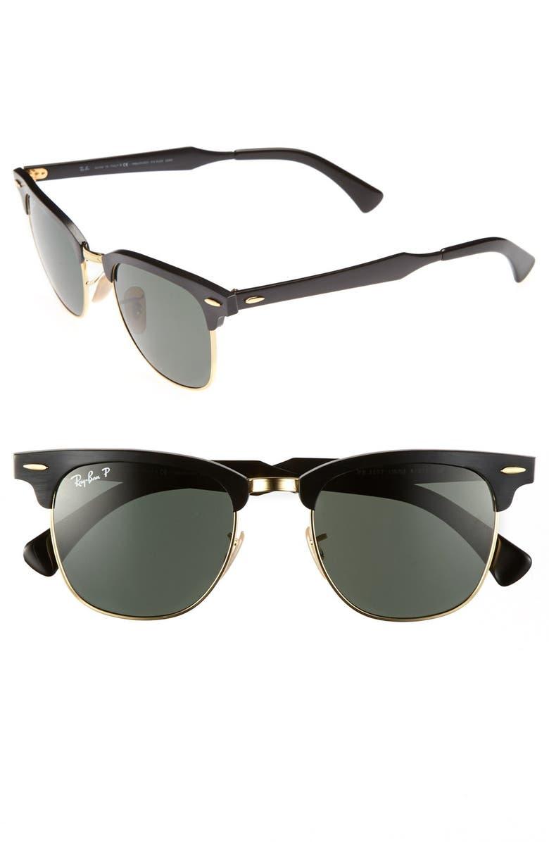 ccb2a2e95f Ray-Ban  Clubmaster - Modern Temple  Polarized Sunglasses