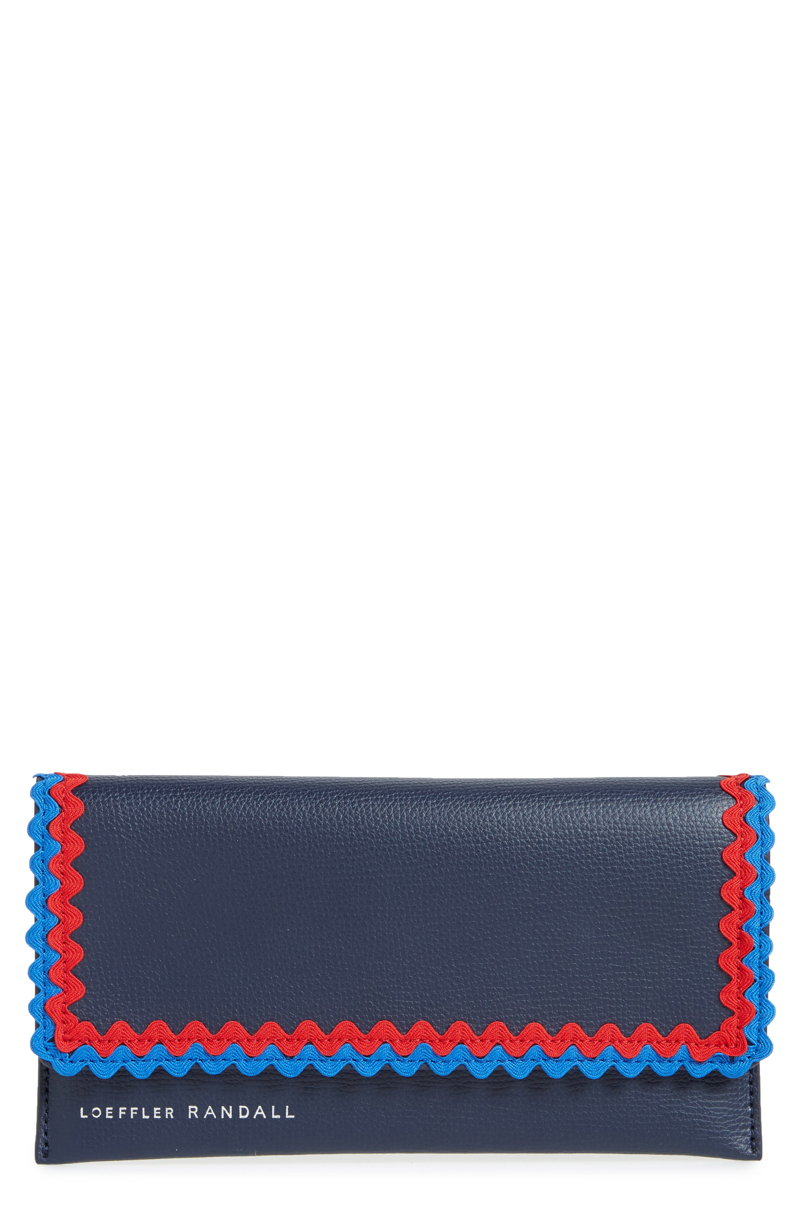 Eveything Embellished Leather Wallet,                         Main,                         color,