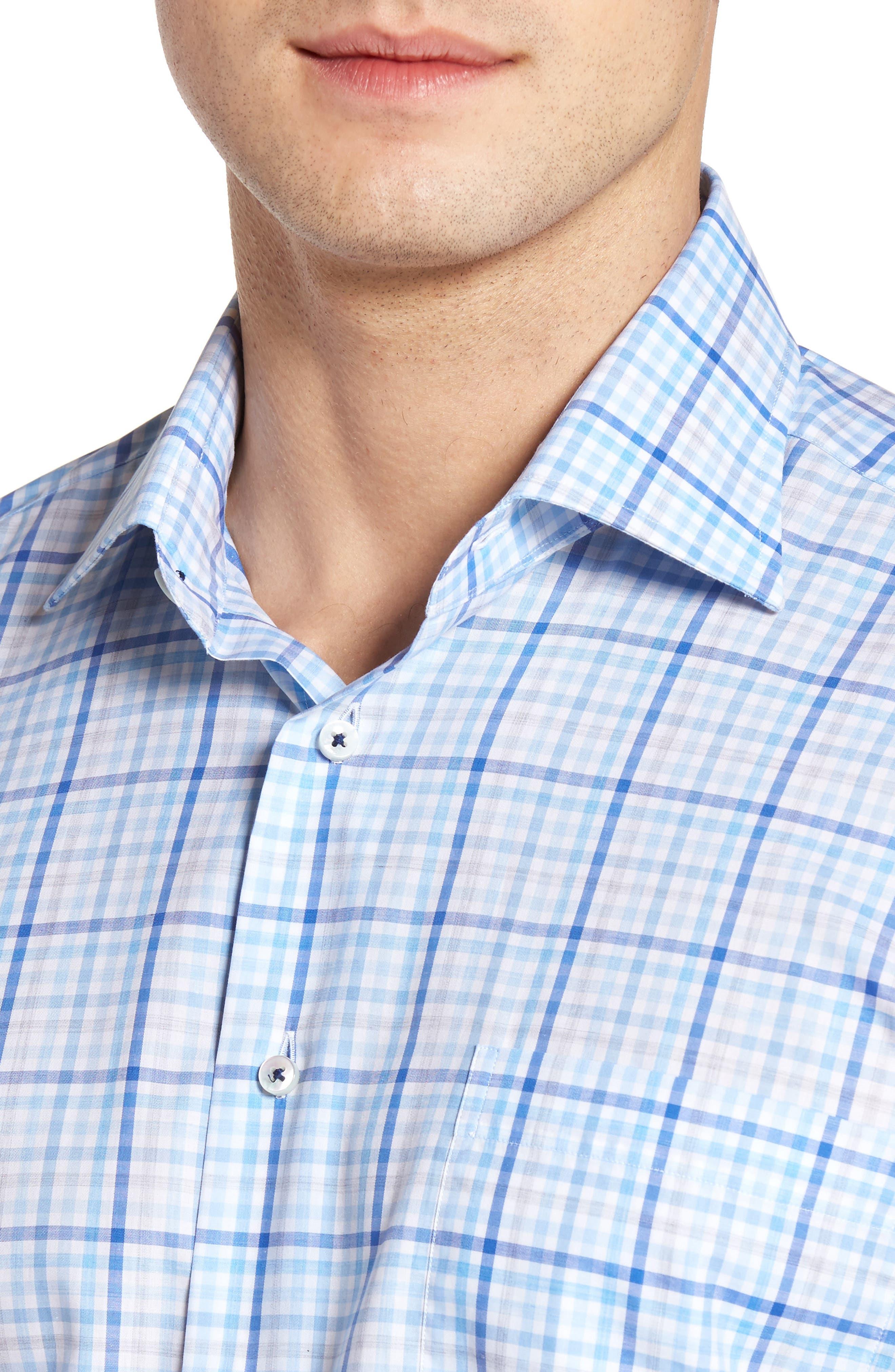 Estate Classic Fit Sport Shirt,                             Alternate thumbnail 4, color,