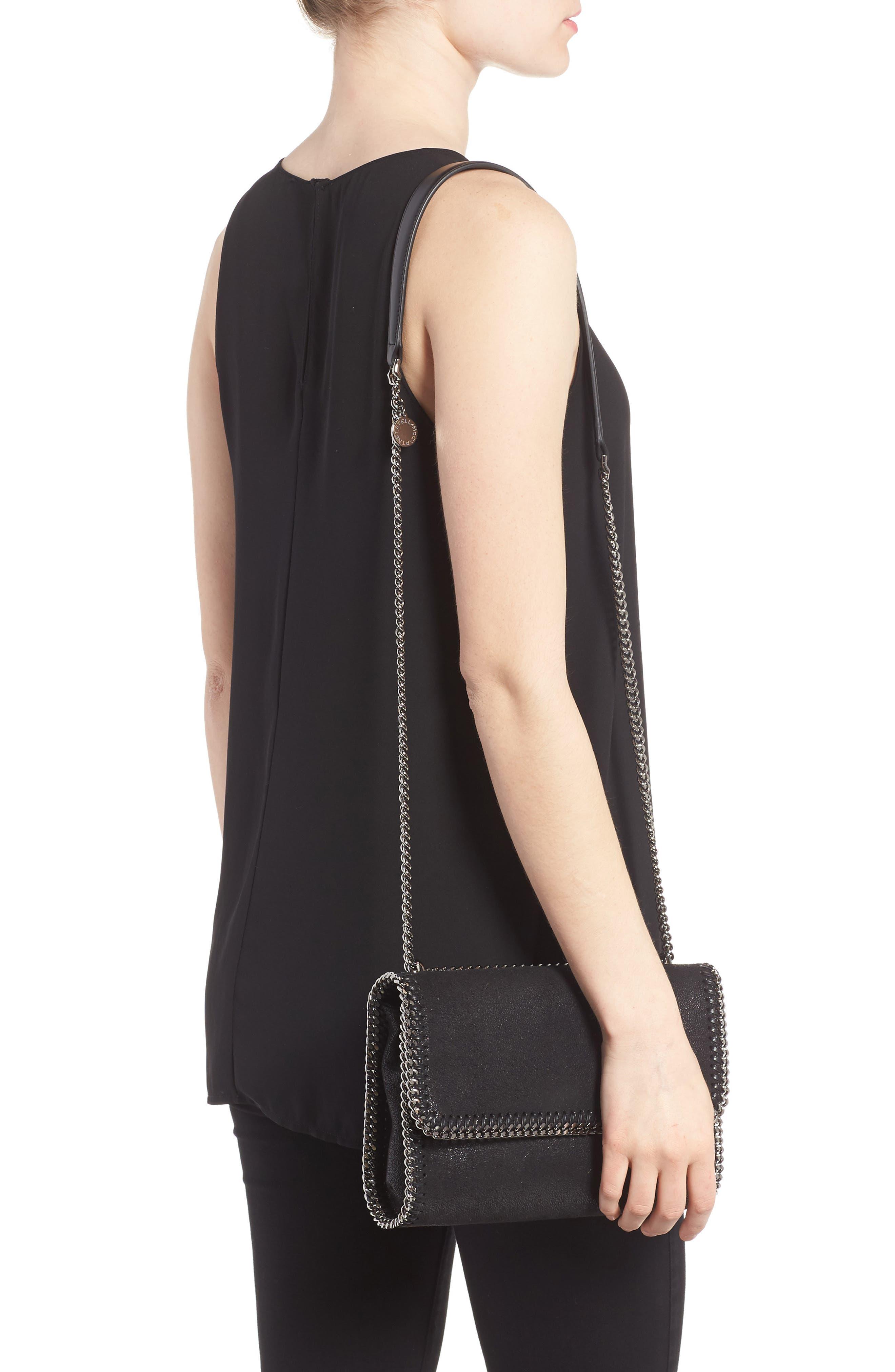Shaggy Deer Flap Shoulder Bag,                             Alternate thumbnail 6, color,