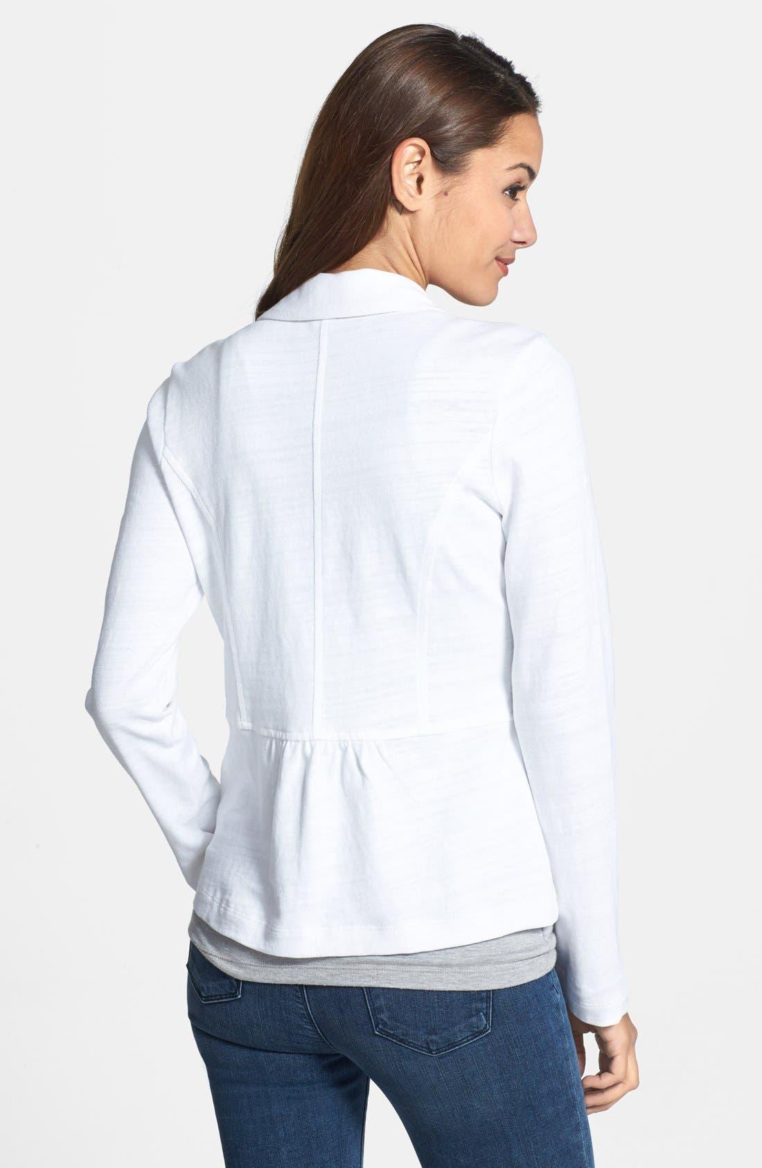 Cotton Knit Jacket,                             Alternate thumbnail 15, color,