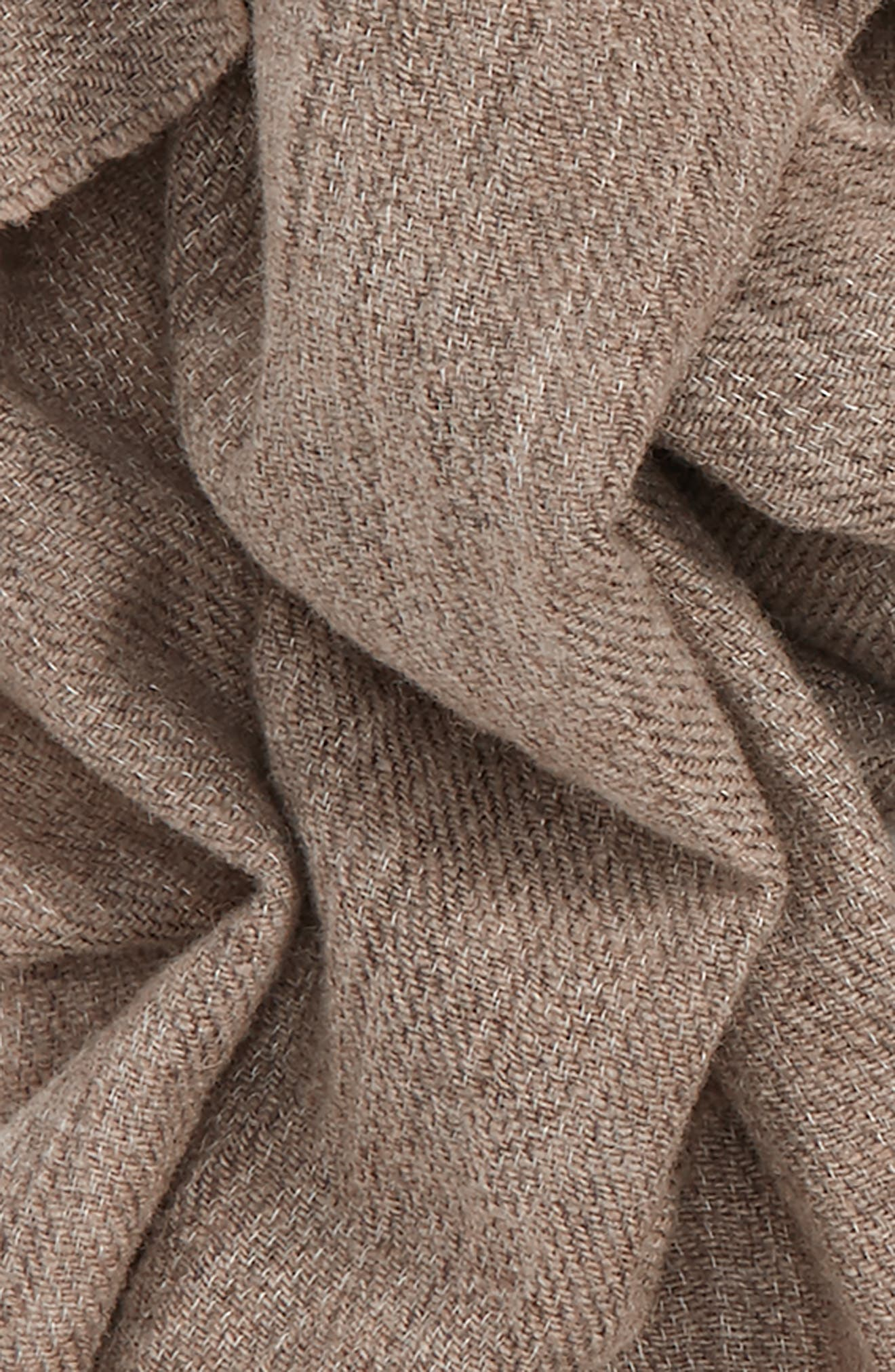 Délavé Lightweight Wool Blend Scarf,                             Alternate thumbnail 6, color,