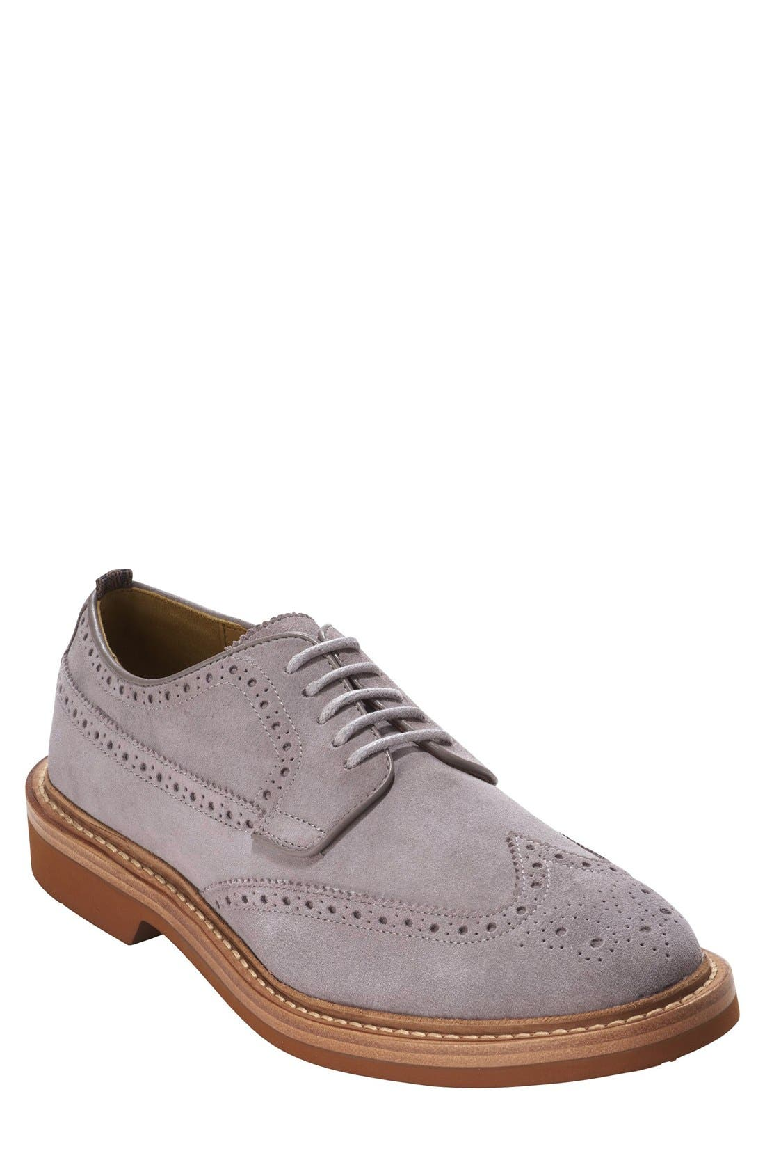 COLE HAAN & TODD SNYDER,                             'Hammond' Wingtip,                             Main thumbnail 1, color,                             025