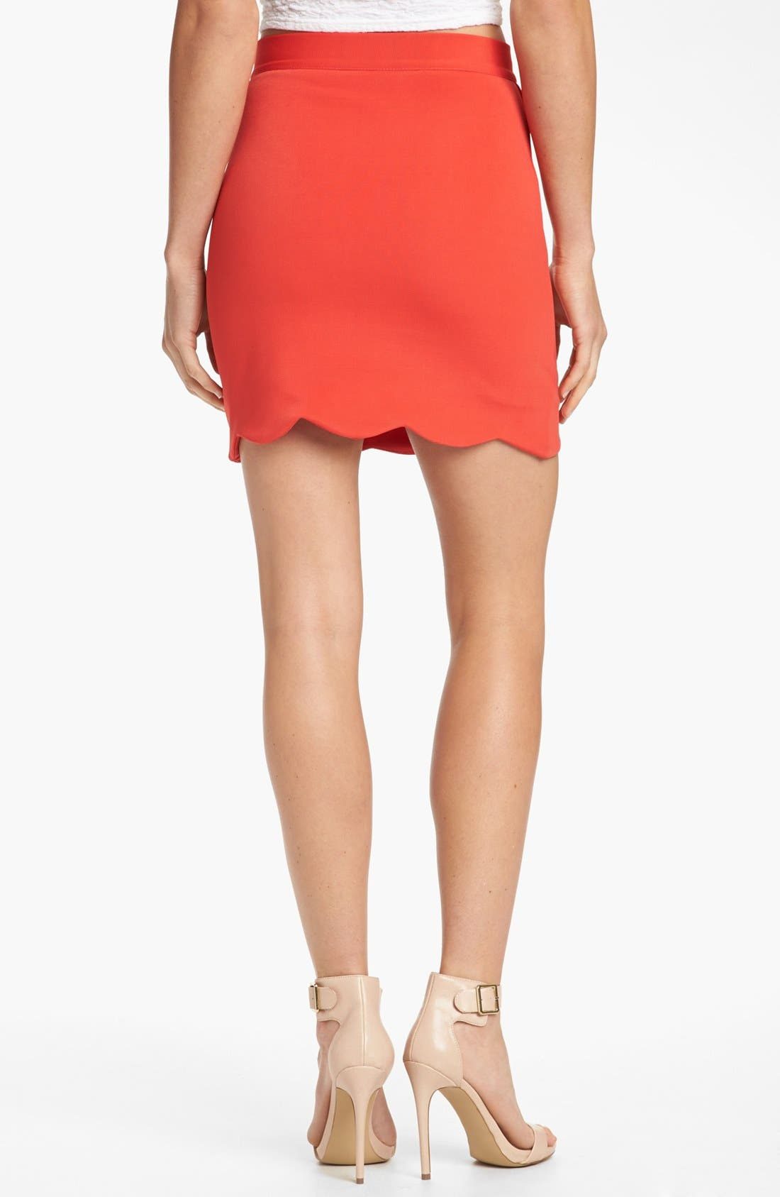 'Roxana' Miniskirt,                             Alternate thumbnail 3, color,                             600