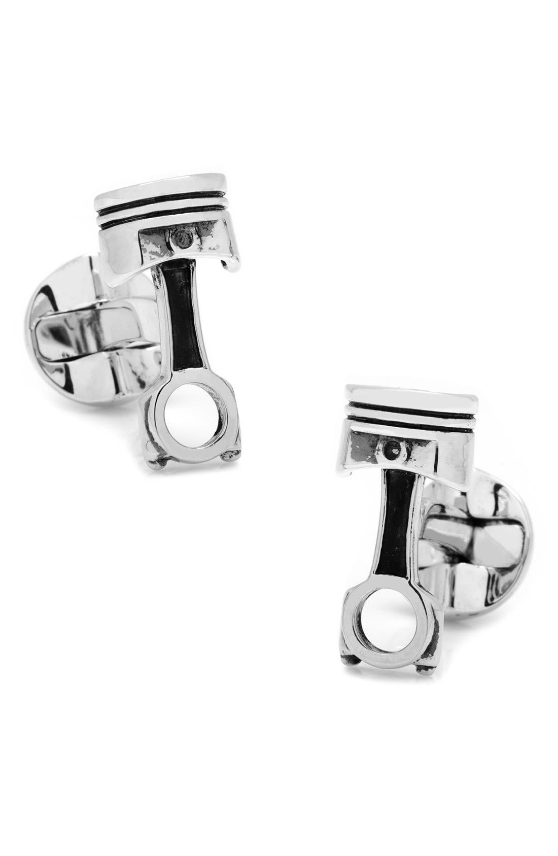 Piston Cuff Links,                             Main thumbnail 1, color,                             040
