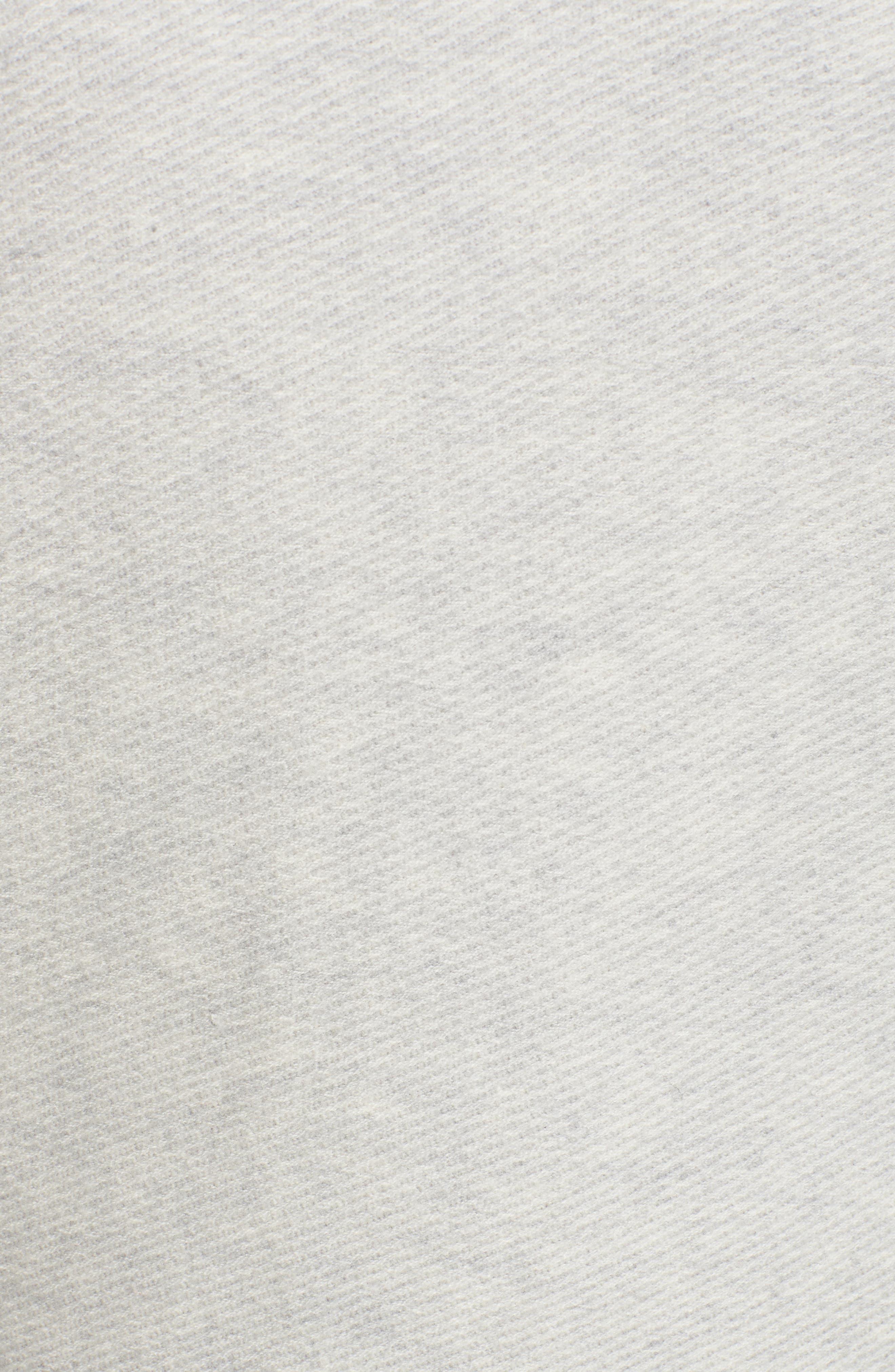 Merino Wool Twill Stitch Quarter Zip Sweater,                             Alternate thumbnail 5, color,                             039