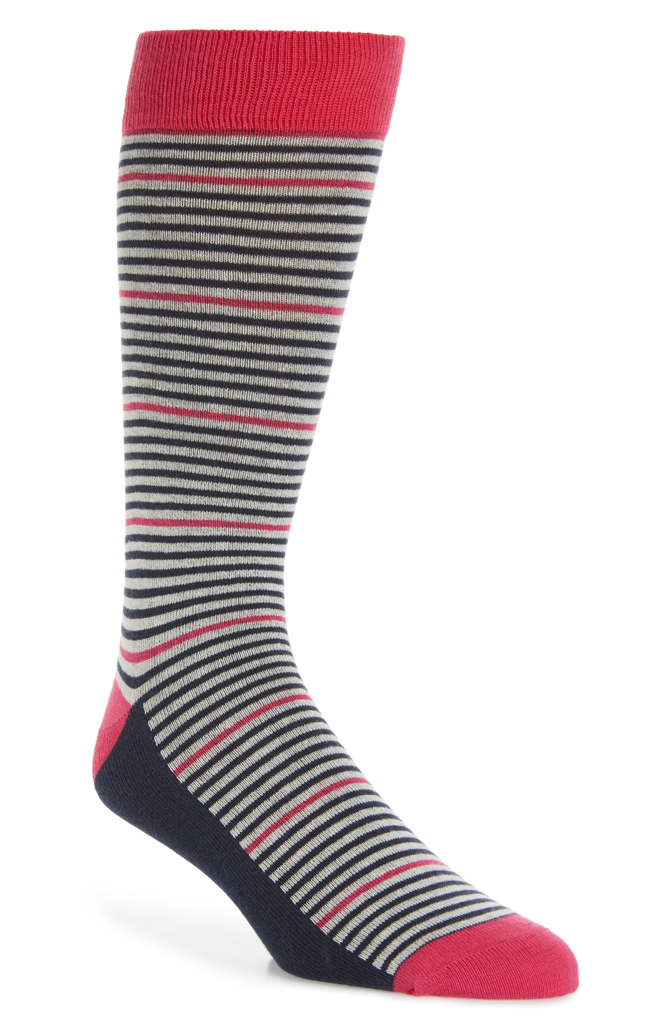 Pinstripe Socks,                             Main thumbnail 2, color,