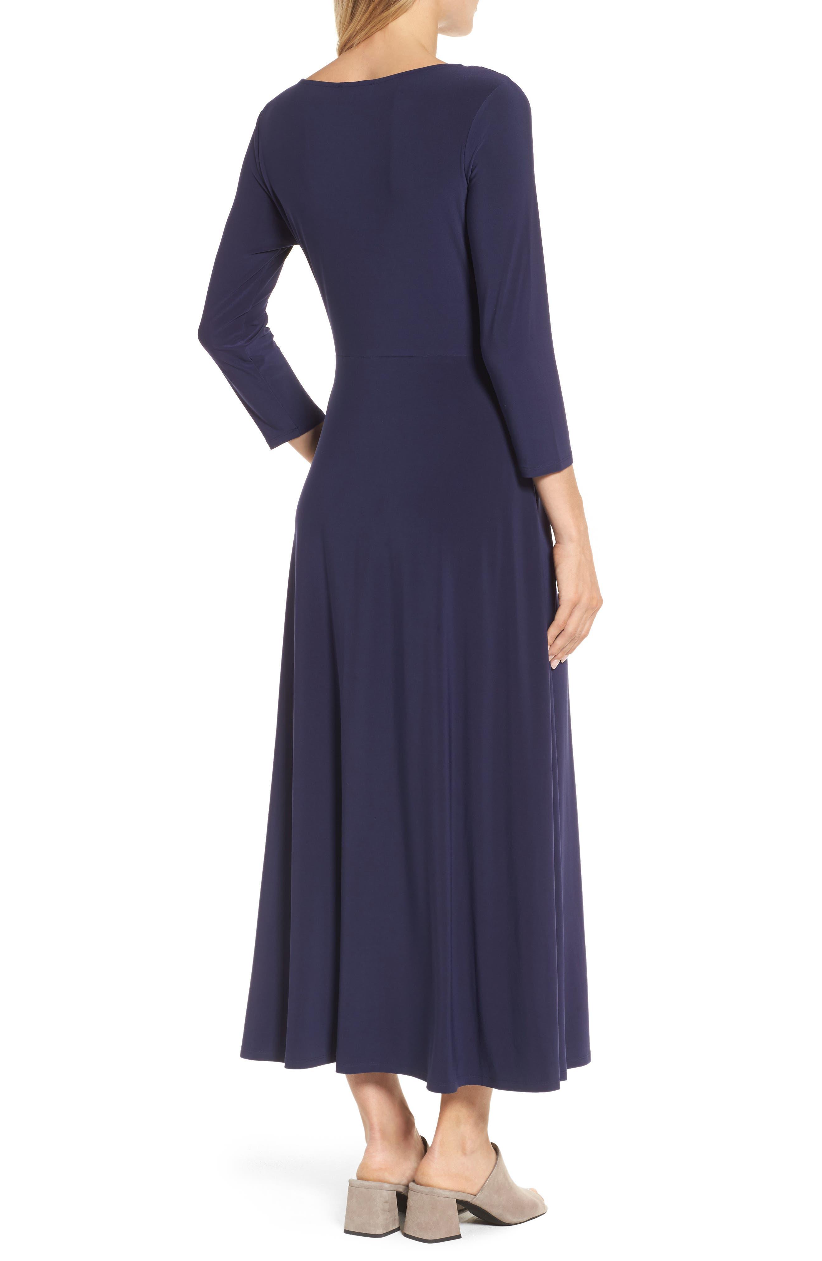 Cahus Faux Wrap Midi Dress,                             Alternate thumbnail 2, color,                             429