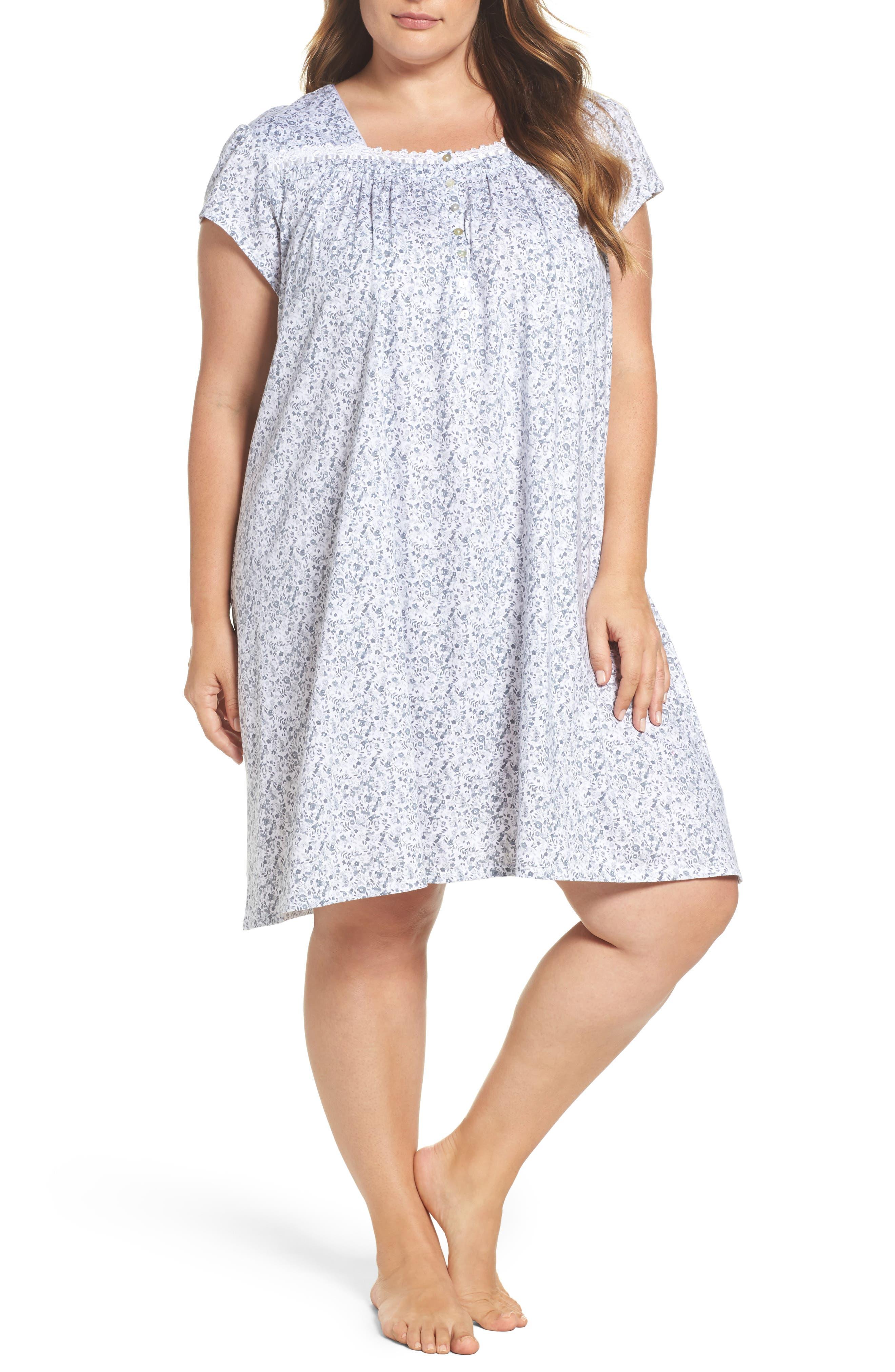 Short Nightgown,                             Main thumbnail 1, color,                             020