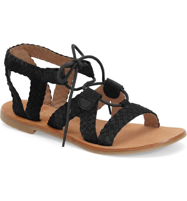 9e646da89a8 Hinge  Ella  Lace-Up Sandal (Women)