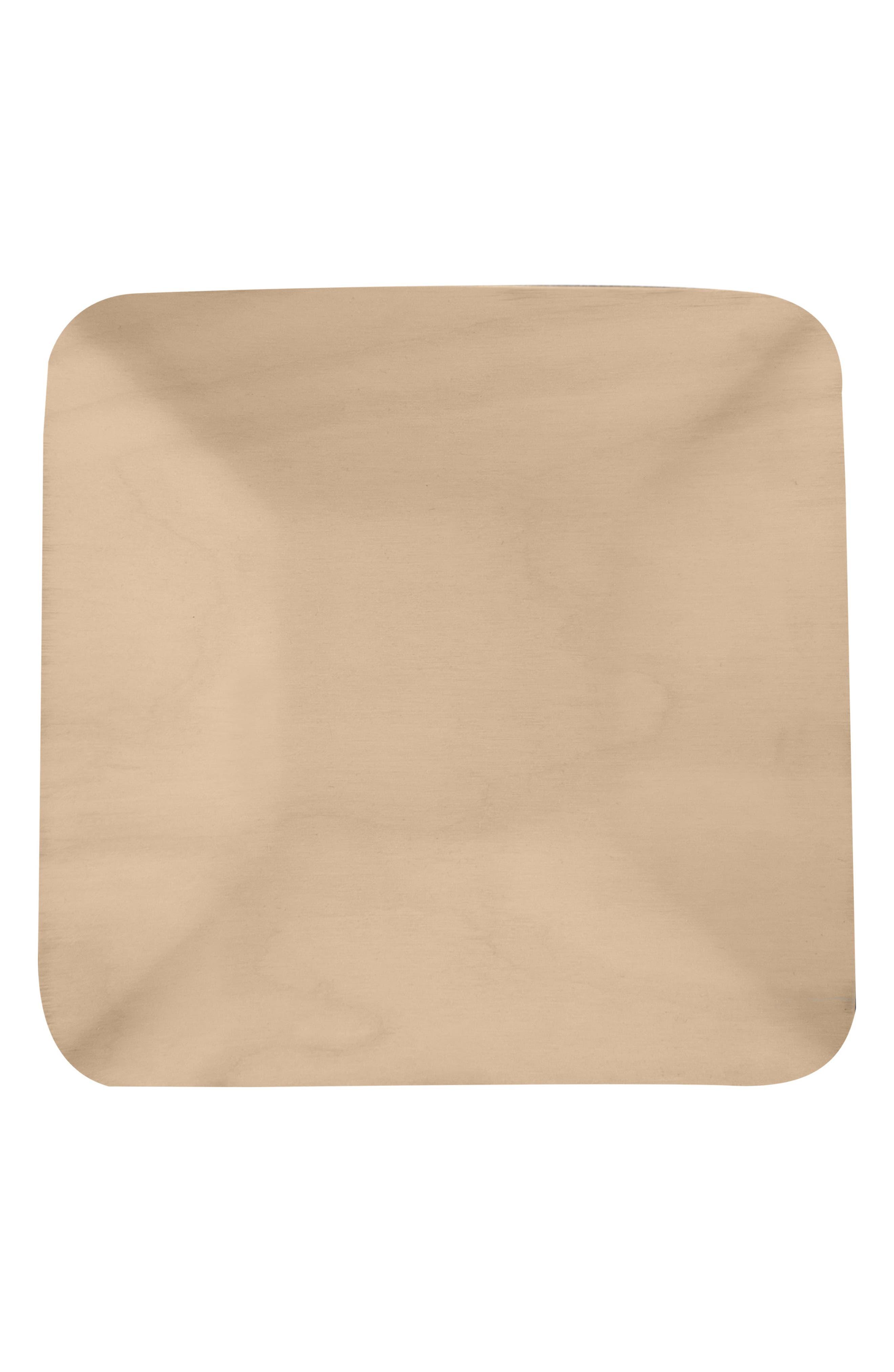 Square Birch & Melamine Serving Tray,                             Alternate thumbnail 2, color,                             250