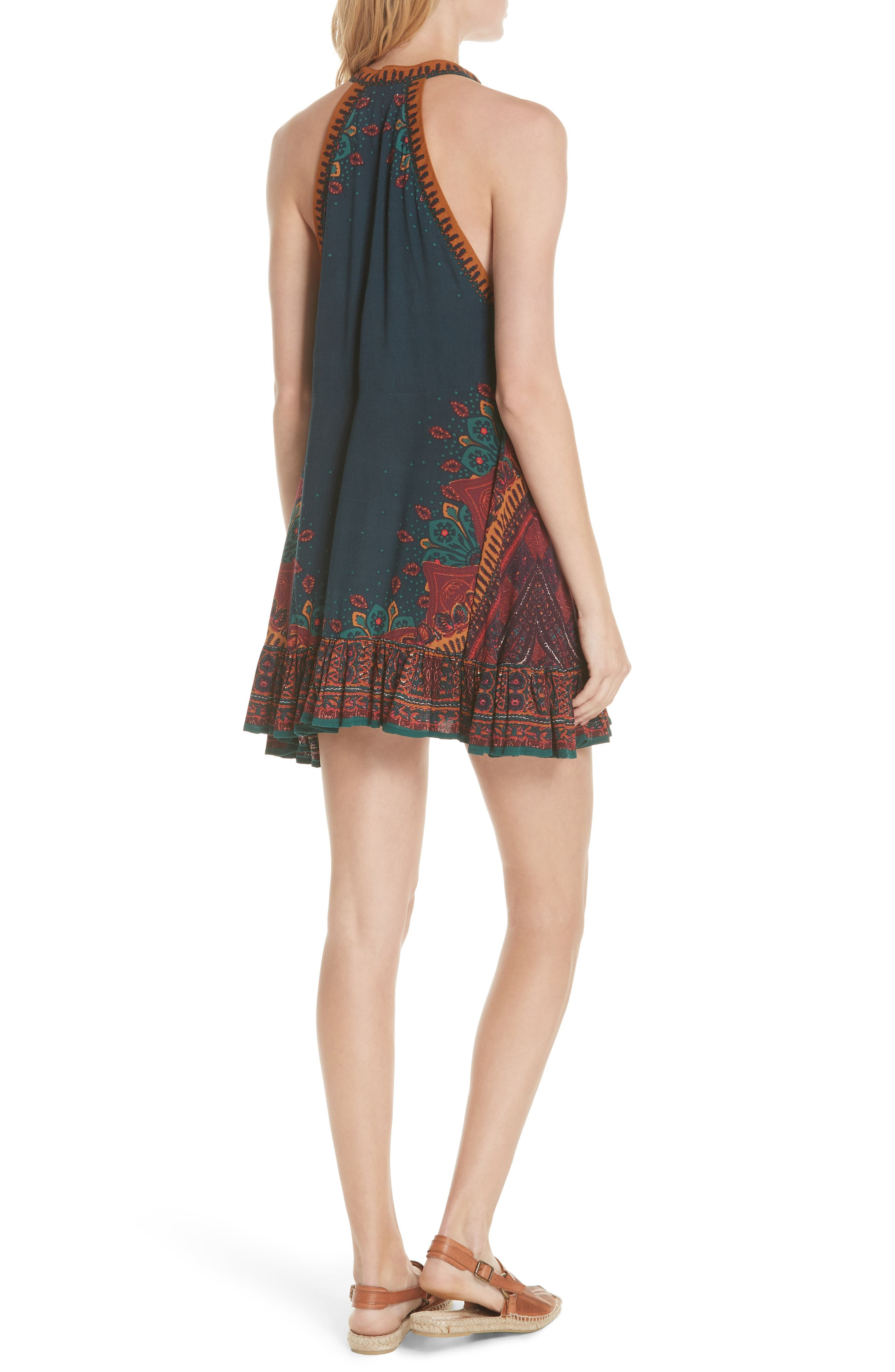 FREE PEOPLE,                             Steal the Sun Reversible Dress,                             Alternate thumbnail 2, color,                             400