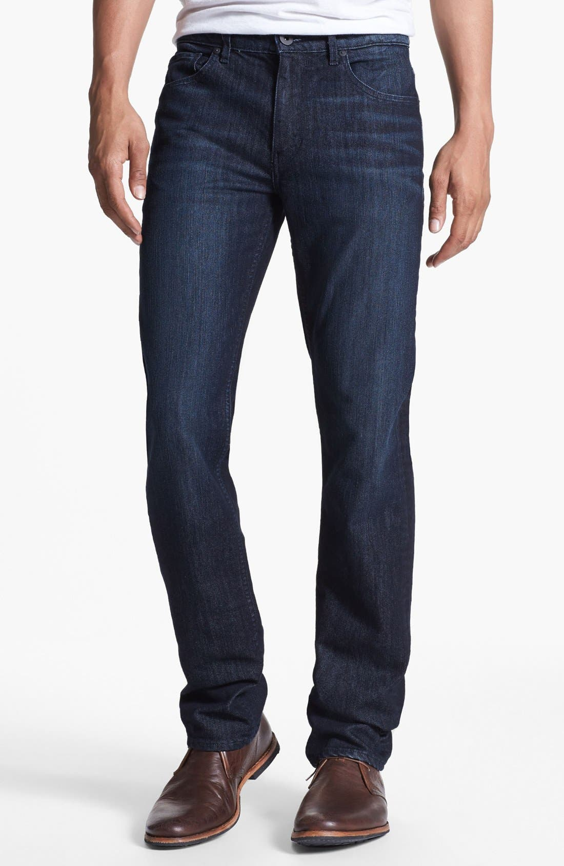 'Doheny' Straight Leg Jeans,                             Alternate thumbnail 4, color,                             400