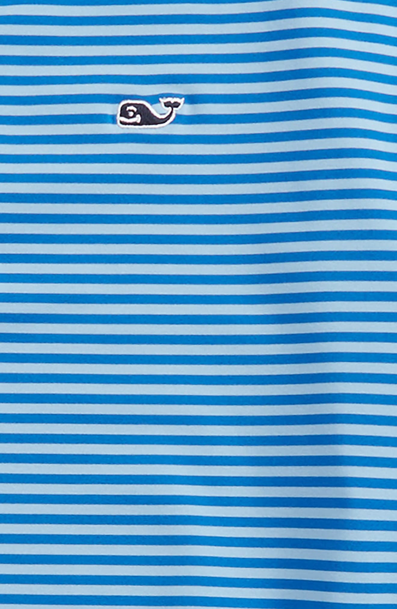 Color & Color Feeder Stripe Performance Polo,                             Alternate thumbnail 7, color,
