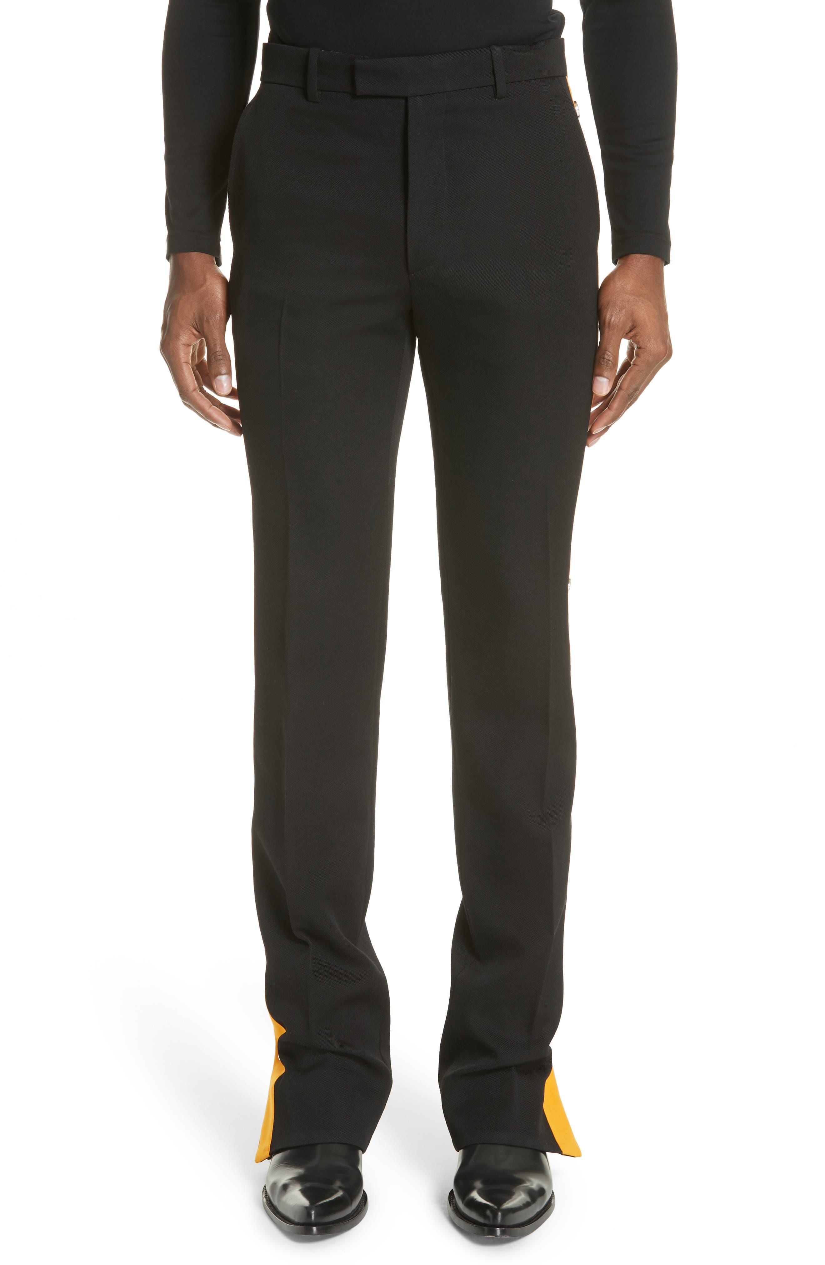 Breakaway Pants,                         Main,                         color, BLACK/ TANGARINE