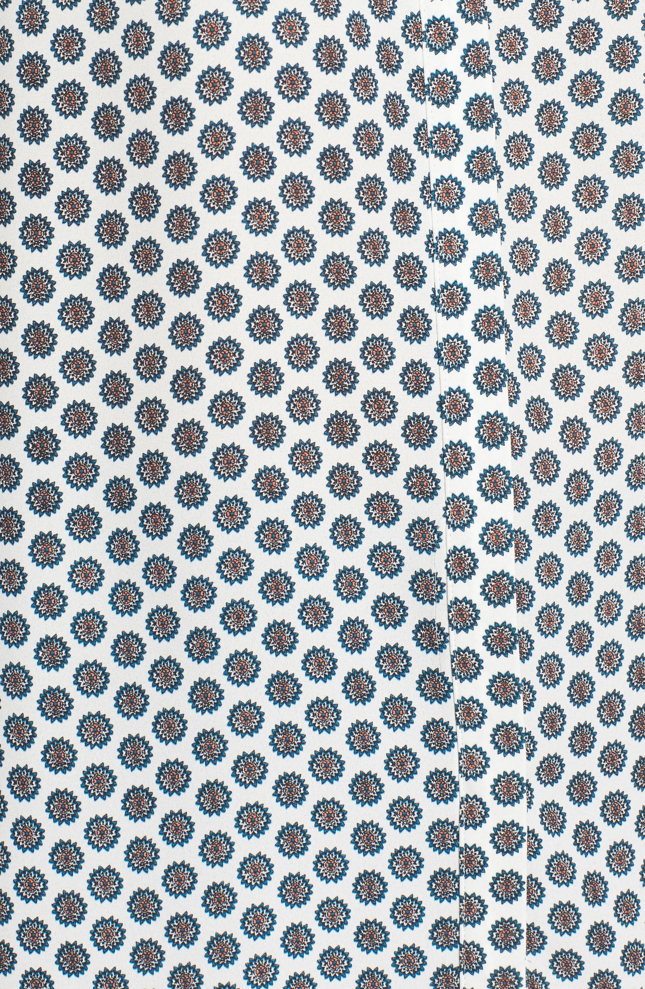 Pleat Back Sleeveless Split Neck Blouse,                             Alternate thumbnail 255, color,