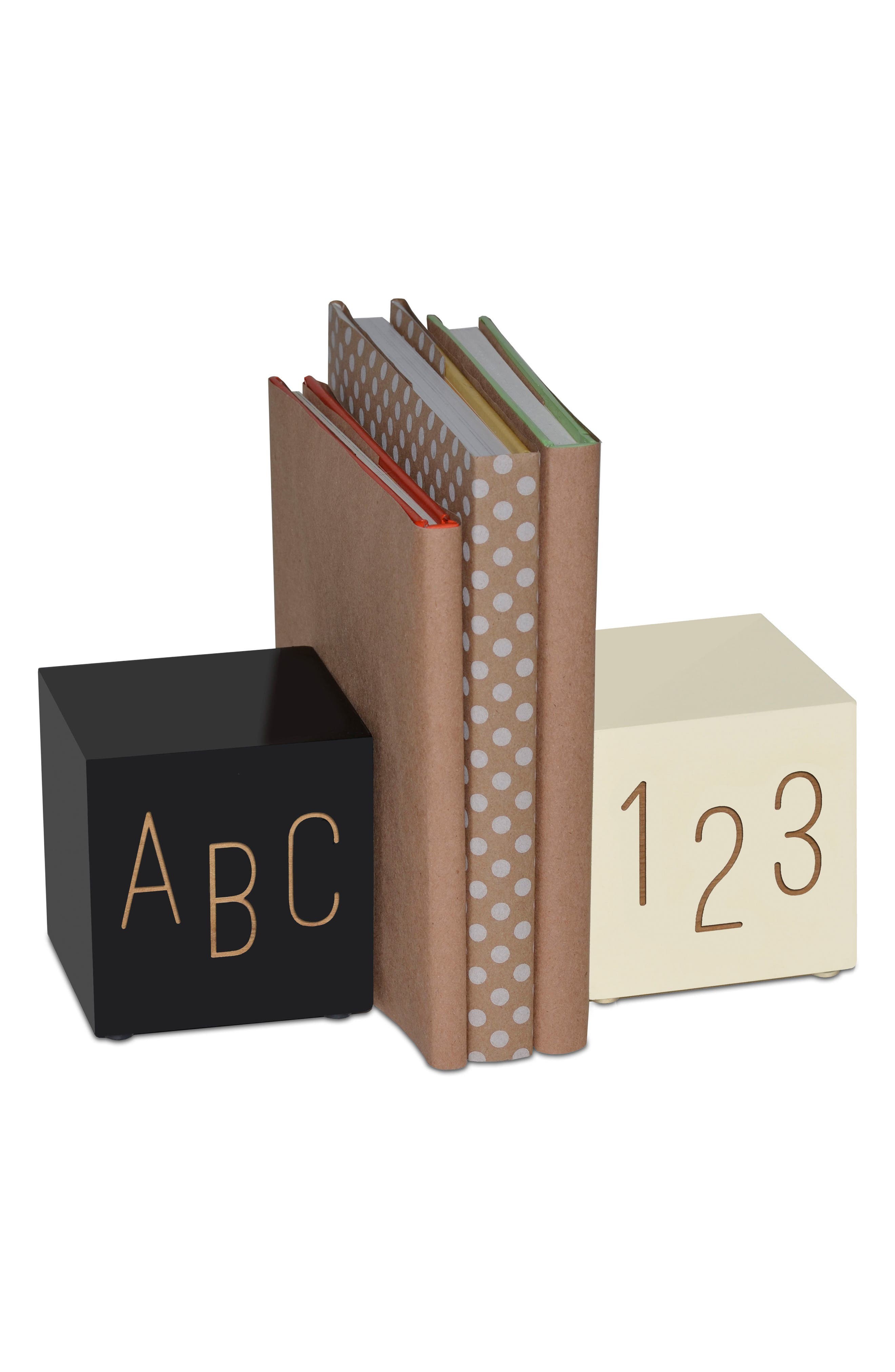 ABC123 Book Ends,                             Main thumbnail 1, color,                             001