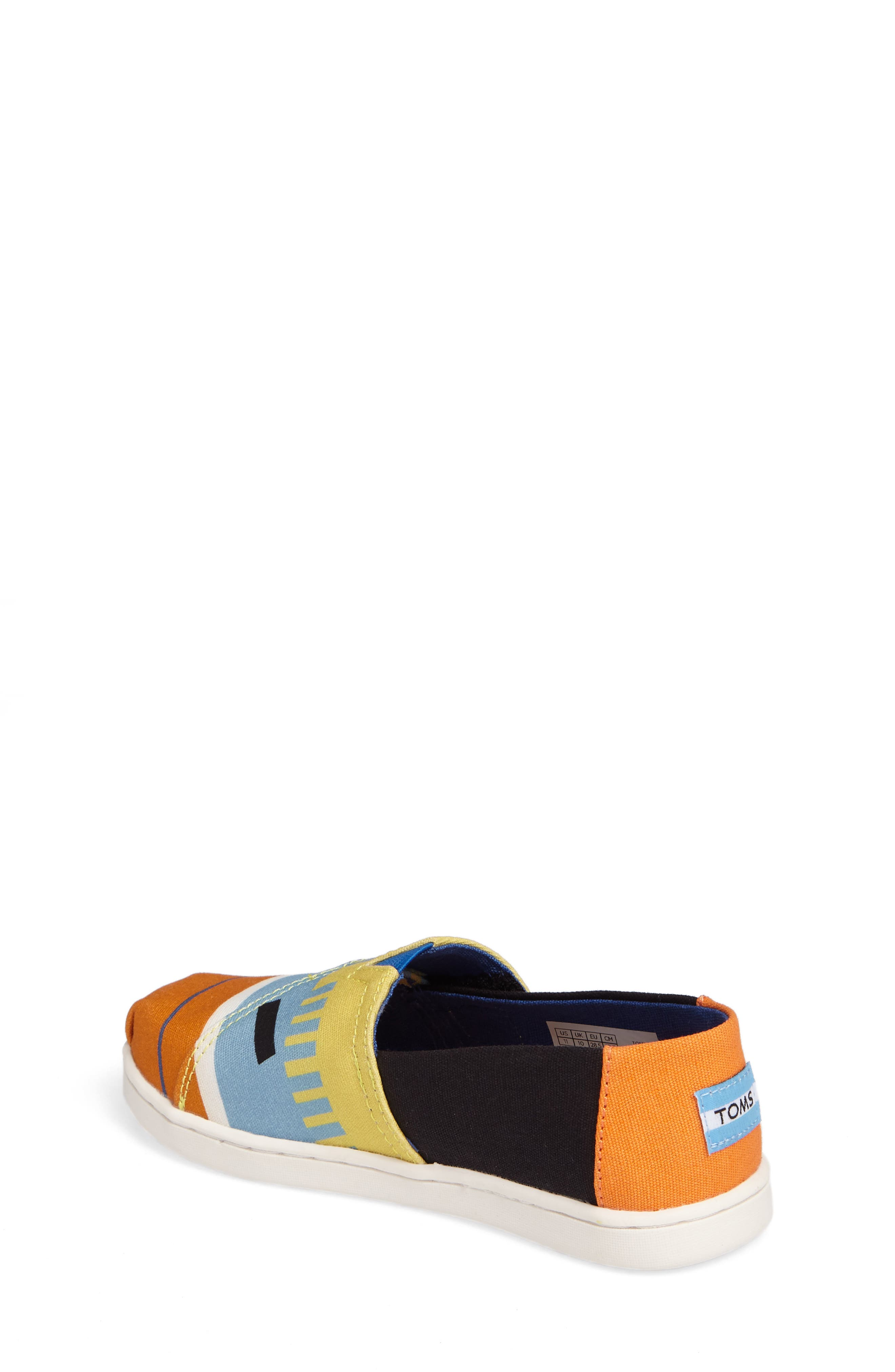 Tiny Alpargata Print Slip-On,                             Alternate thumbnail 6, color,