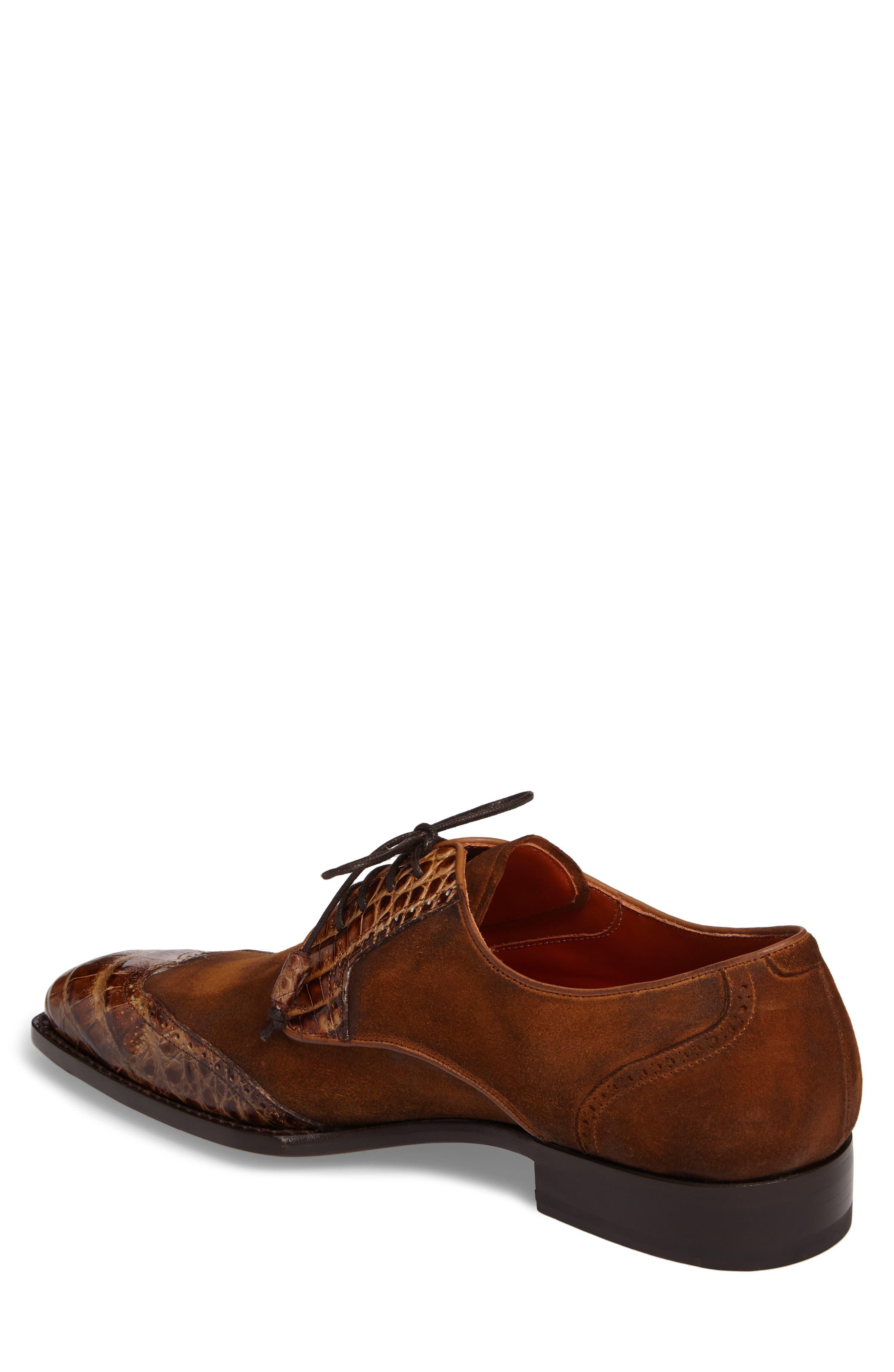 Nunez Spectator Shoe,                             Alternate thumbnail 2, color,                             CAMEL/ BEIGE