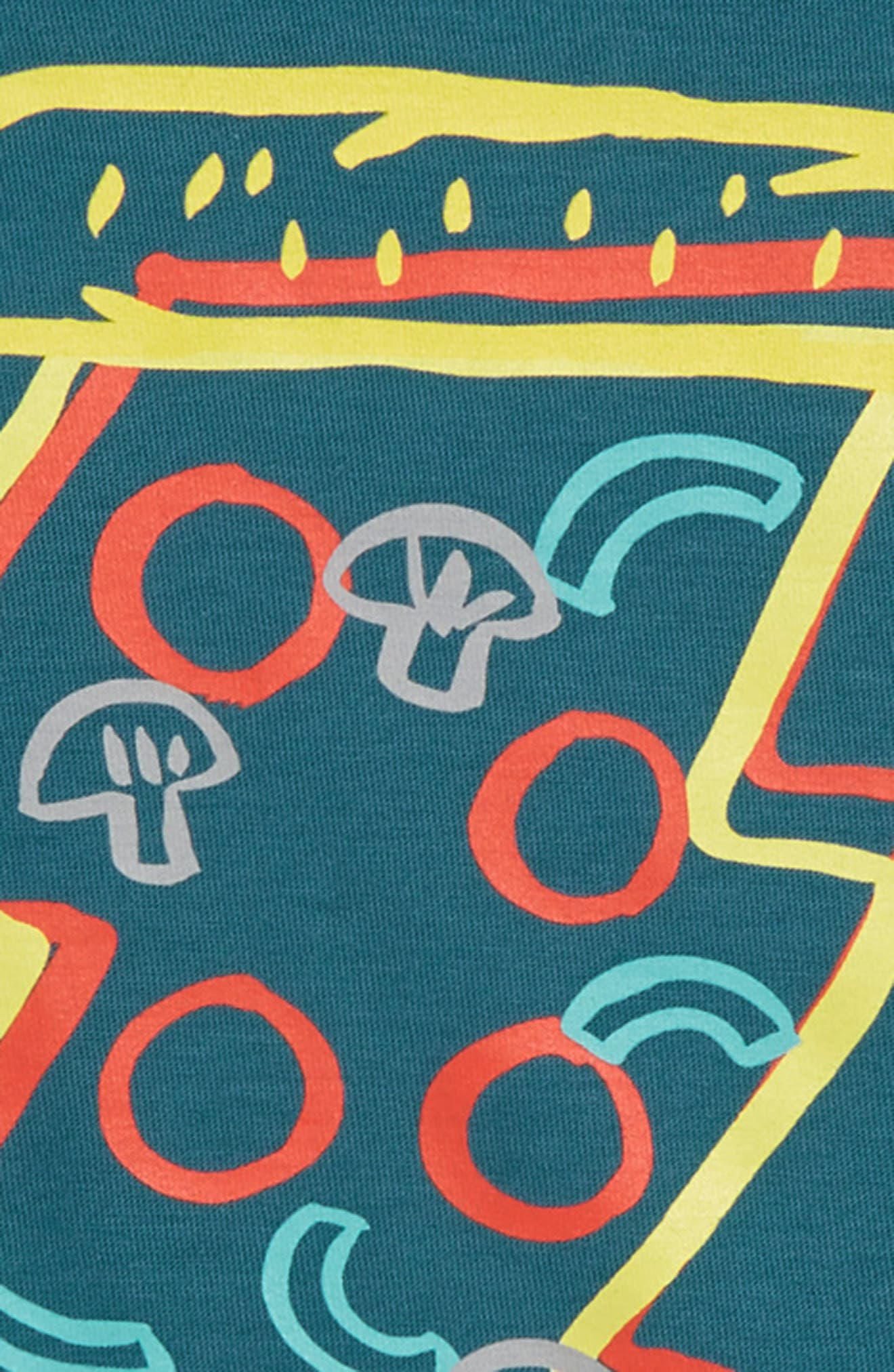 Pizza Layer T-Shirt,                             Alternate thumbnail 2, color,                             OASIS