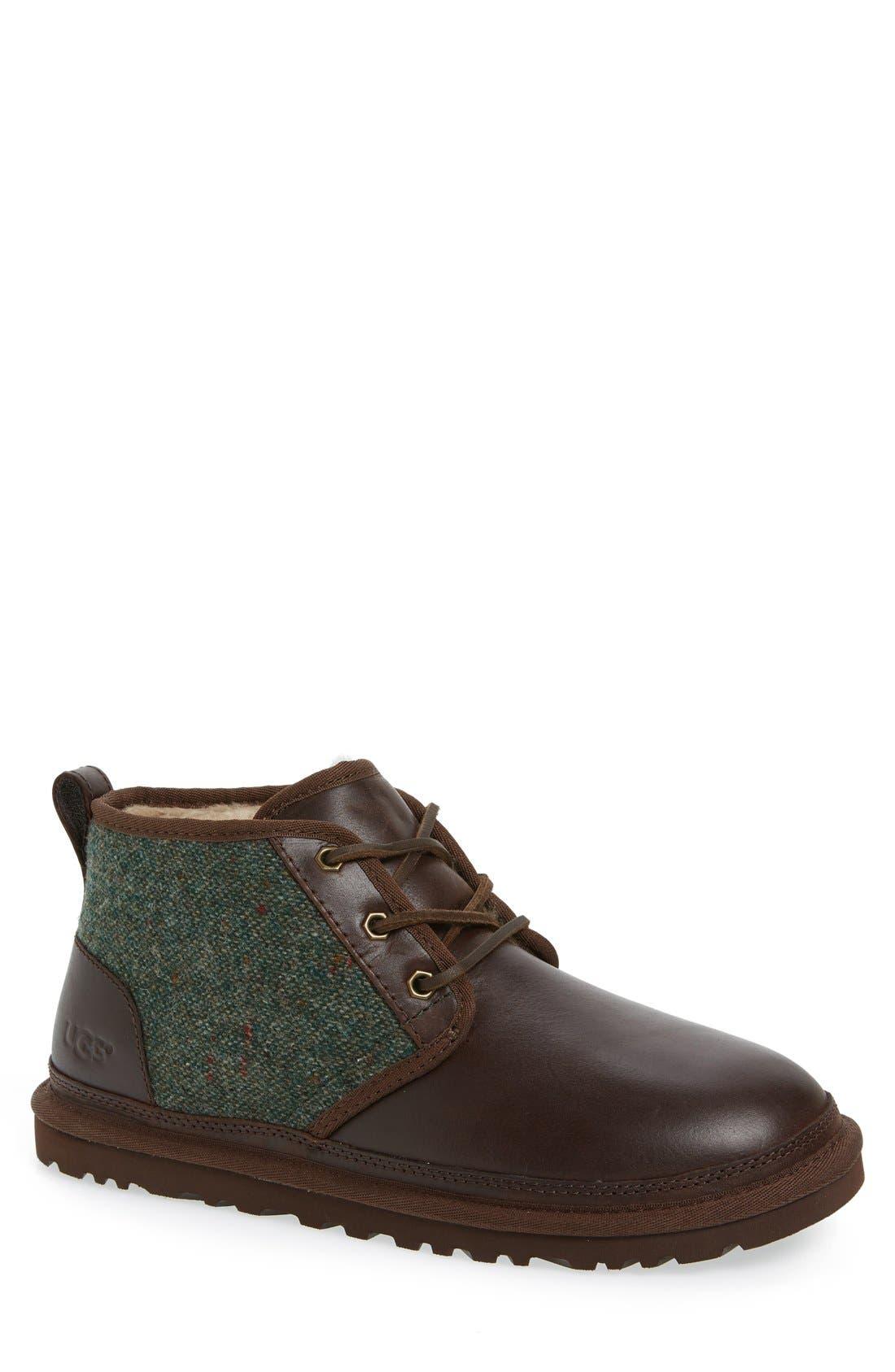 Neumel Wool & Leather Chukka Boot,                             Main thumbnail 1, color,                             207