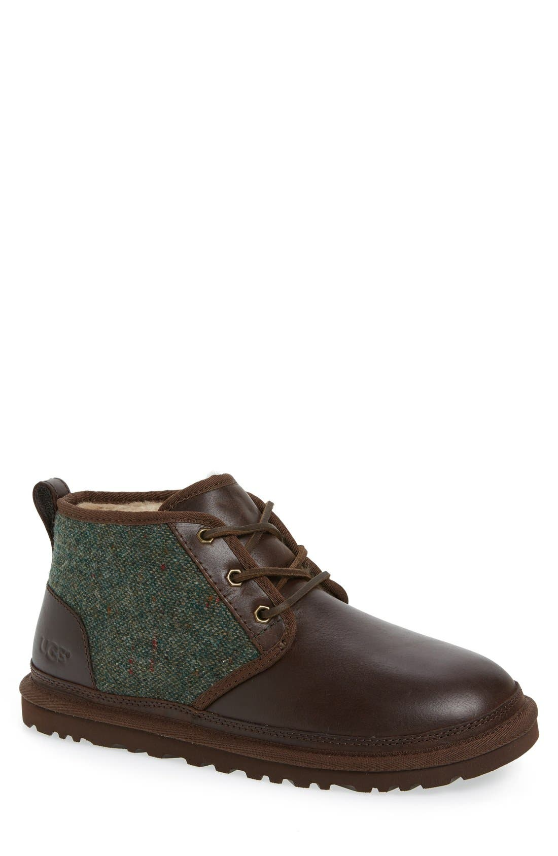 Neumel Wool & Leather Chukka Boot,                         Main,                         color, 207