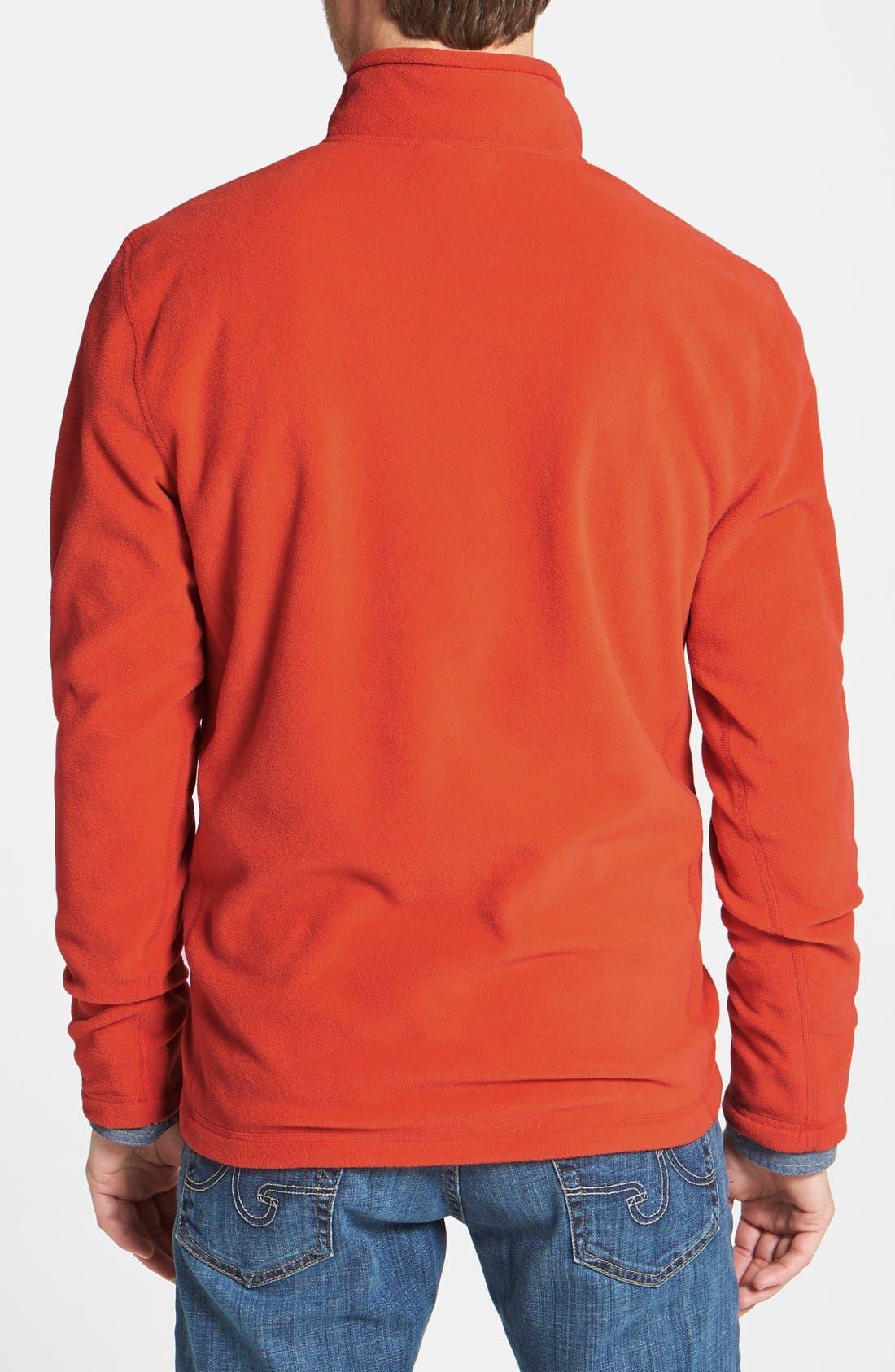 'TKA 100 Glacier' Quarter Zip Fleece Pullover,                             Alternate thumbnail 161, color,
