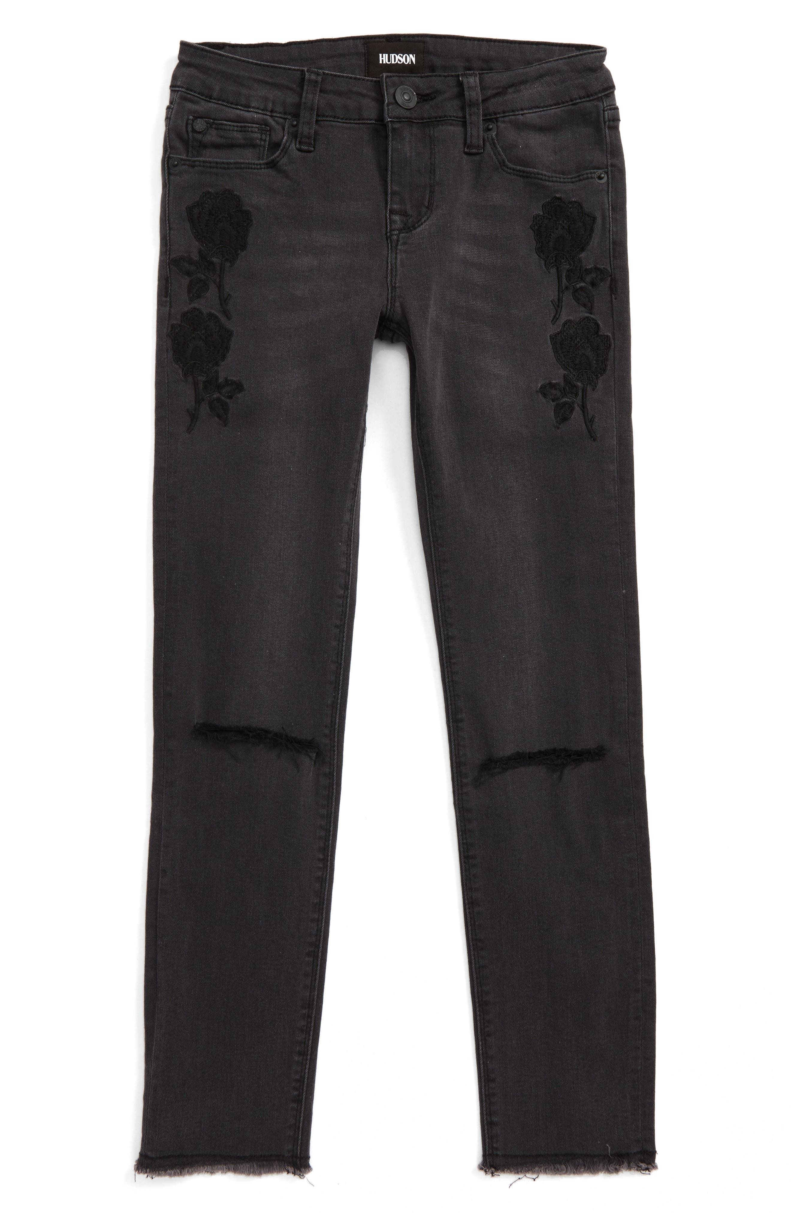 Black Iris Skinny Jeans,                         Main,                         color, 008