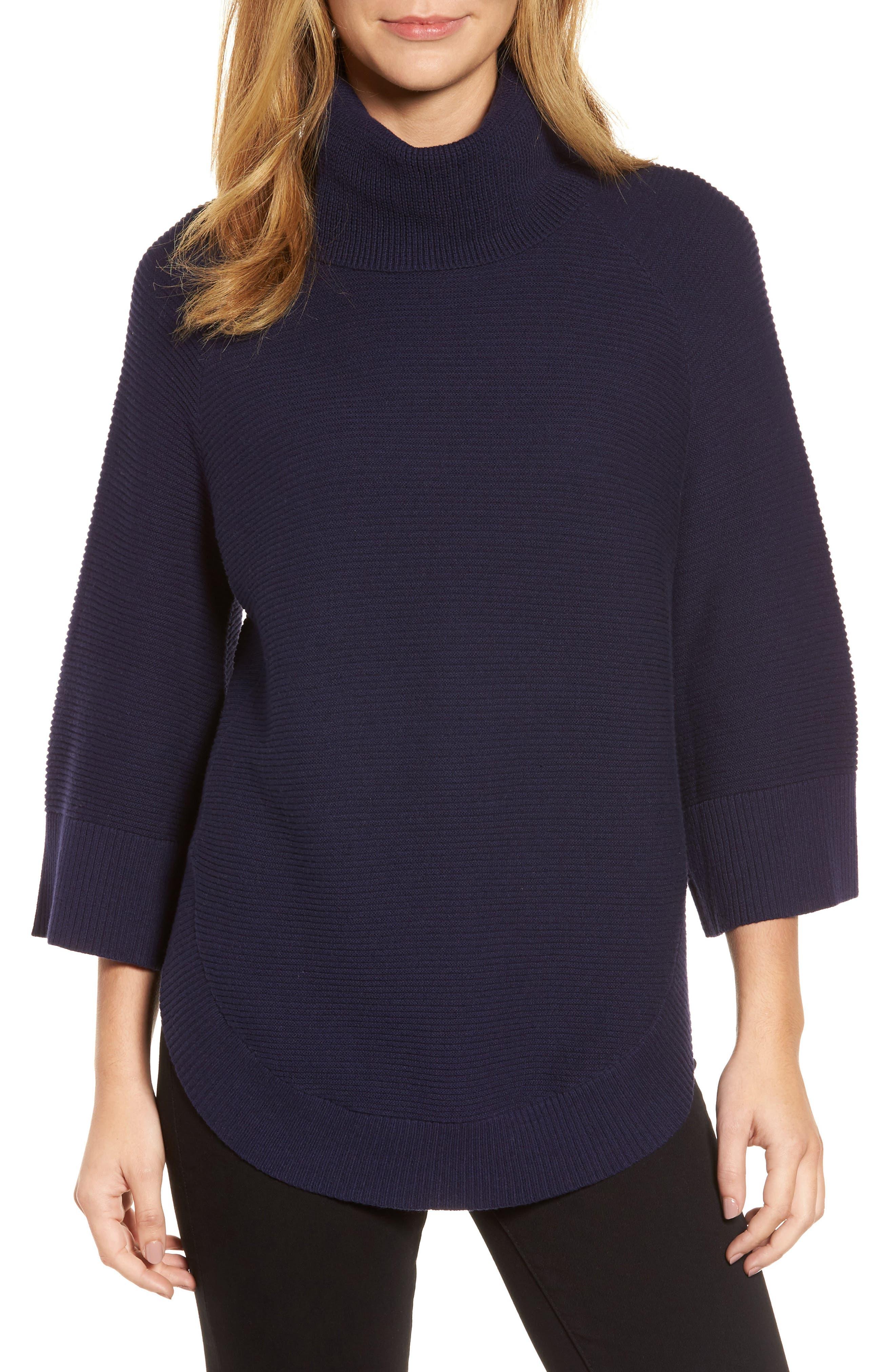 Cowl Neck Shirttail Hem Sweater,                             Main thumbnail 2, color,