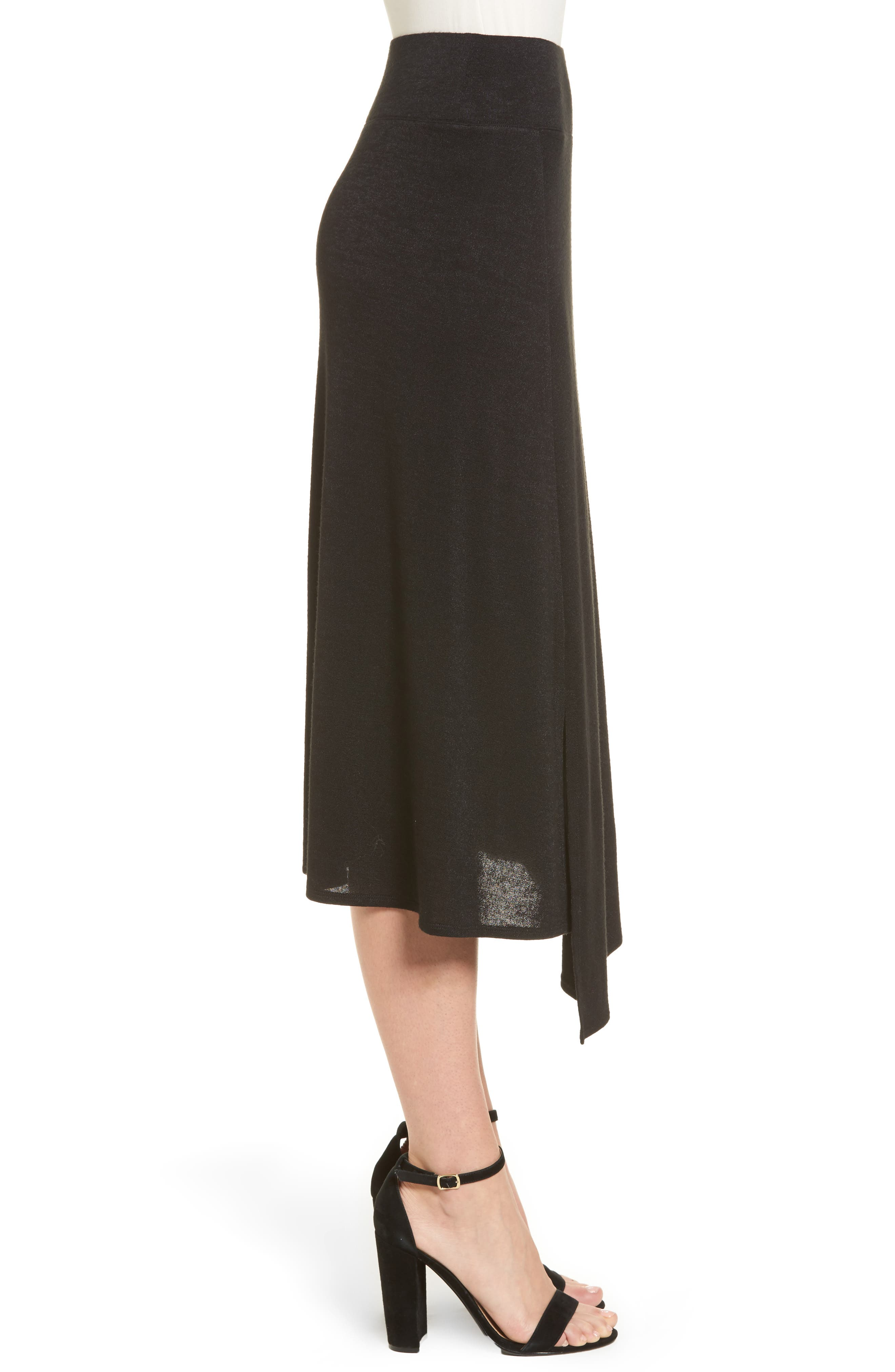 Nic + Zoe Every Occasion Faux Wrap Skirt,                             Alternate thumbnail 5, color,