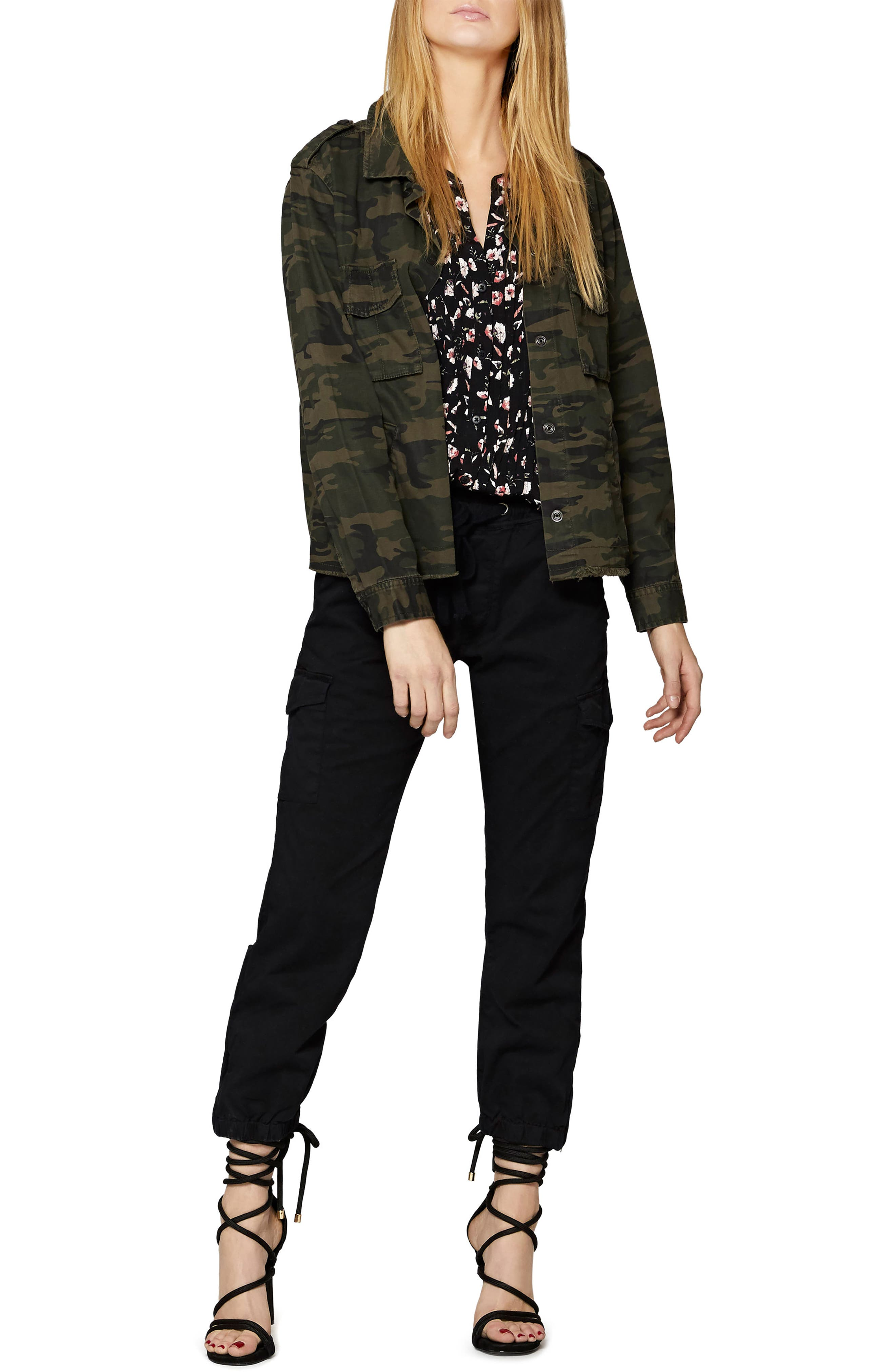 SANCTUARY,                             In the Fray Military Jacket,                             Alternate thumbnail 3, color,                             398