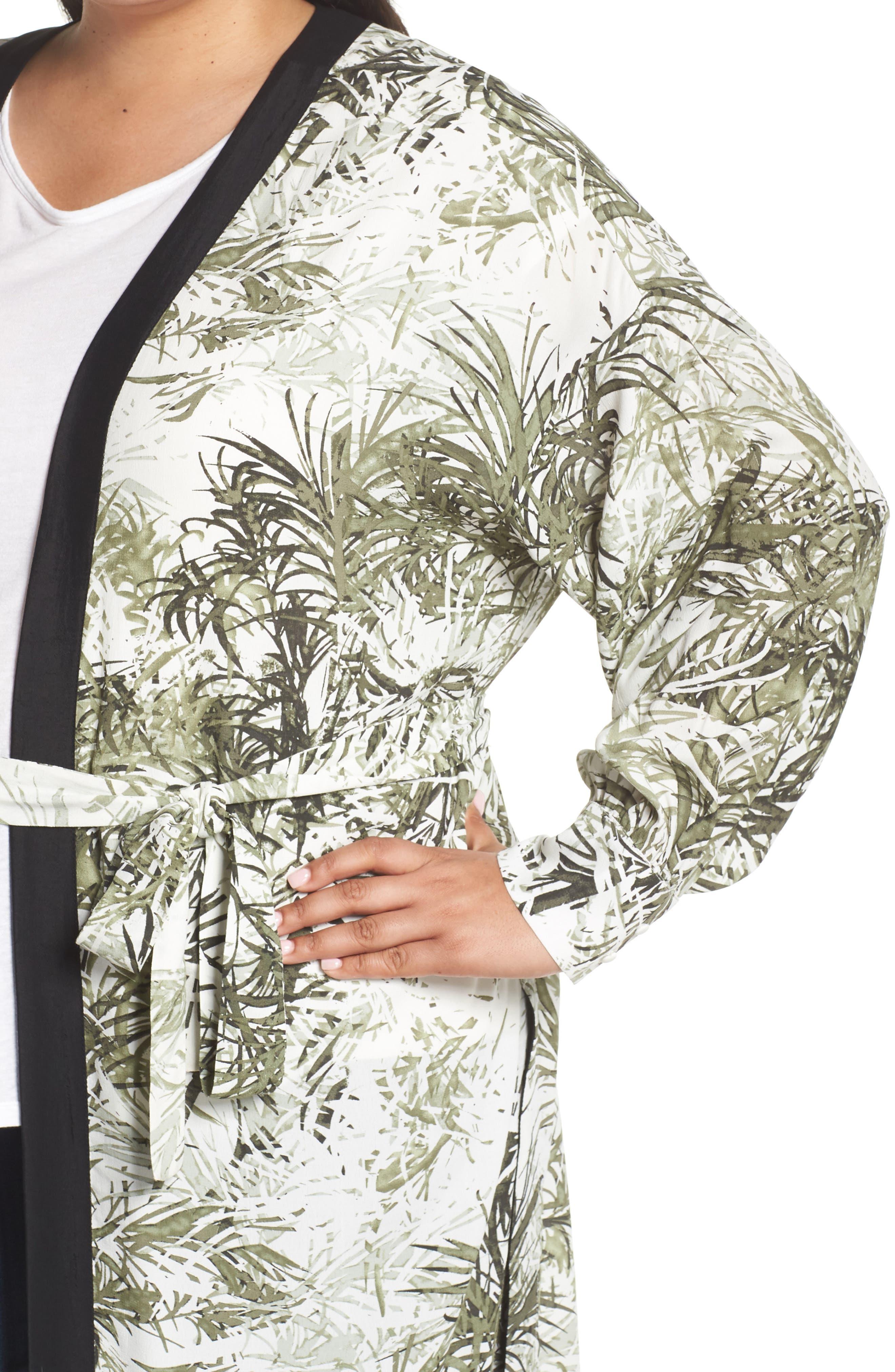 Calico Kimono,                             Alternate thumbnail 6, color,                             306