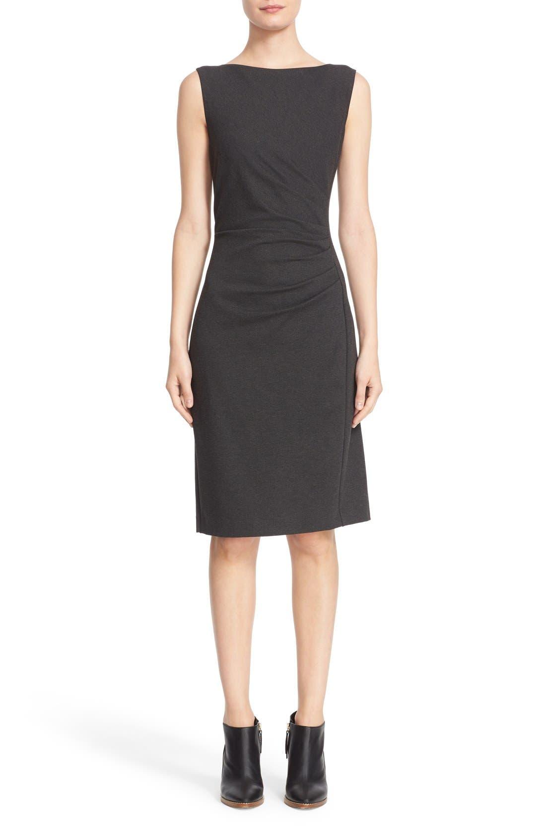 'Aligi' Sleeveless Jersey Sheath Dress,                             Main thumbnail 1, color,                             023
