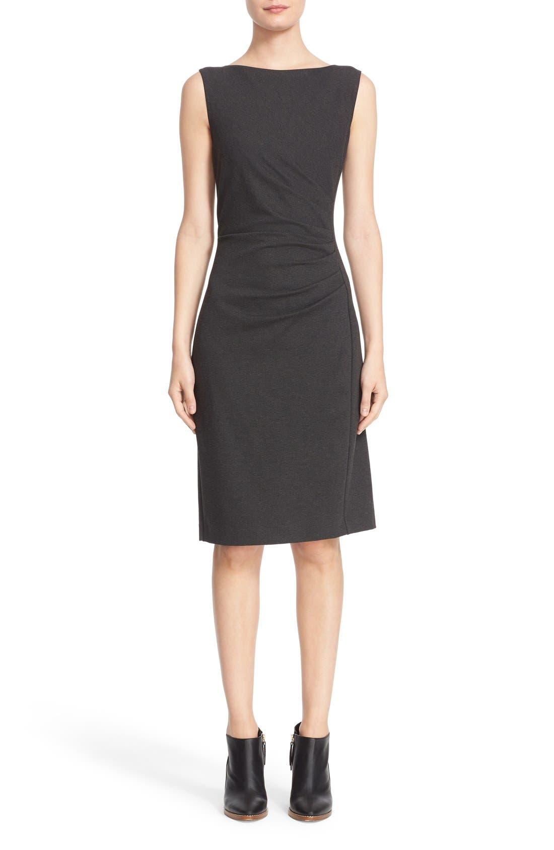 'Aligi' Sleeveless Jersey Sheath Dress,                         Main,                         color, 023