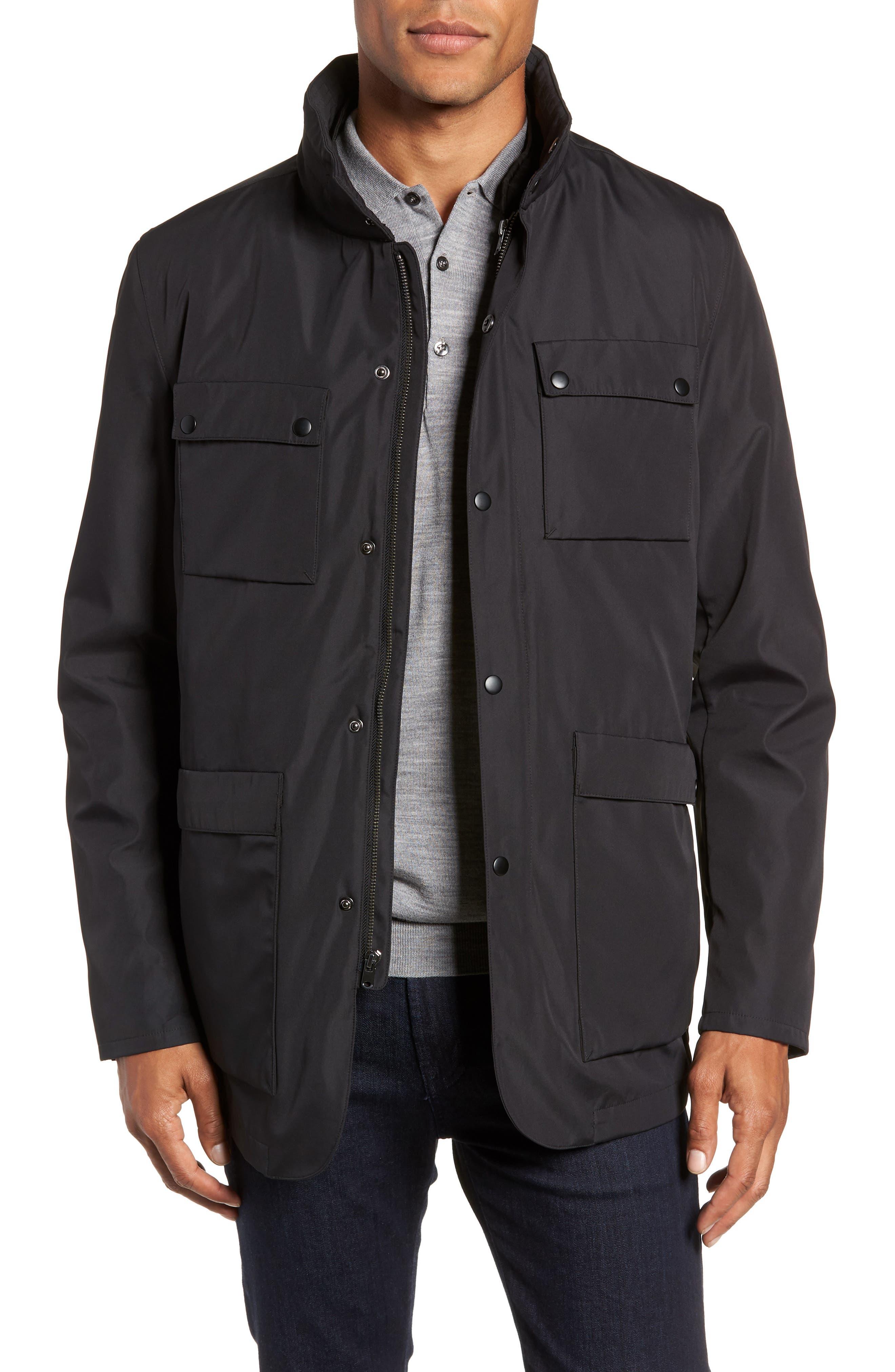 Oak 3-in-1 Jacket,                             Main thumbnail 1, color,                             BLACK
