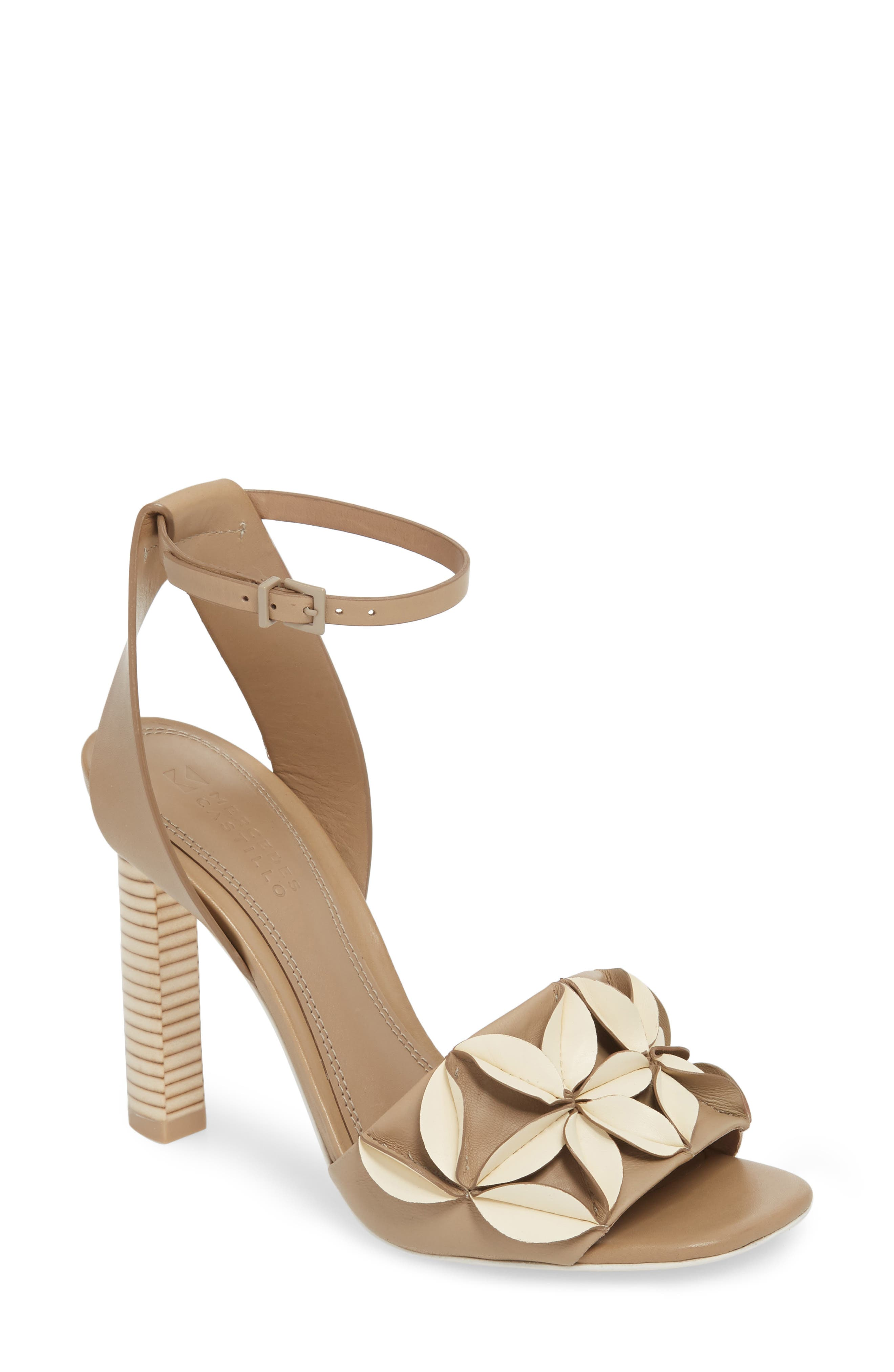 Milee Ankle Strap Sandal,                             Main thumbnail 1, color,