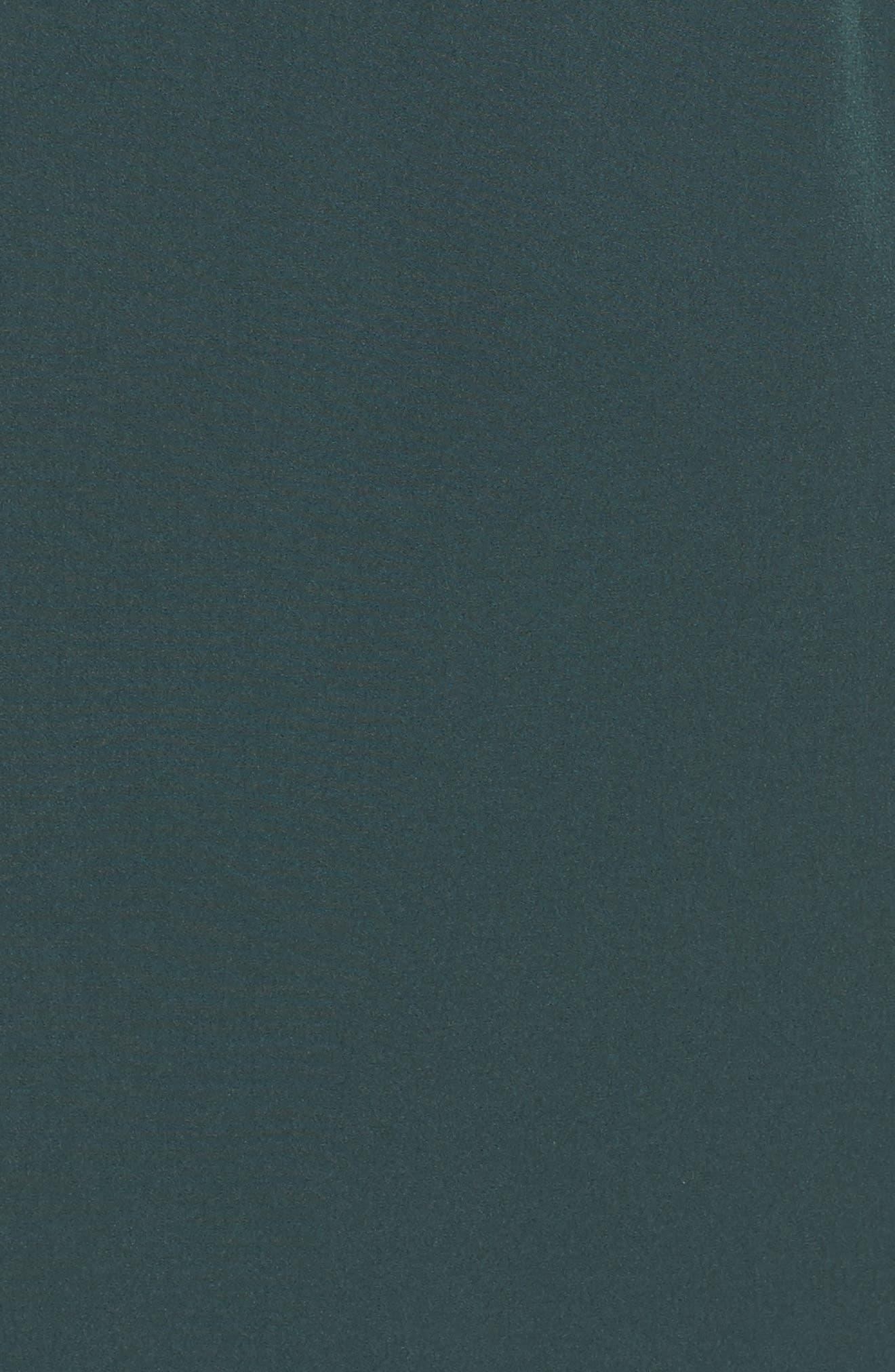 Ruffle Stretch Crepe Sheath Dress,                             Alternate thumbnail 26, color,