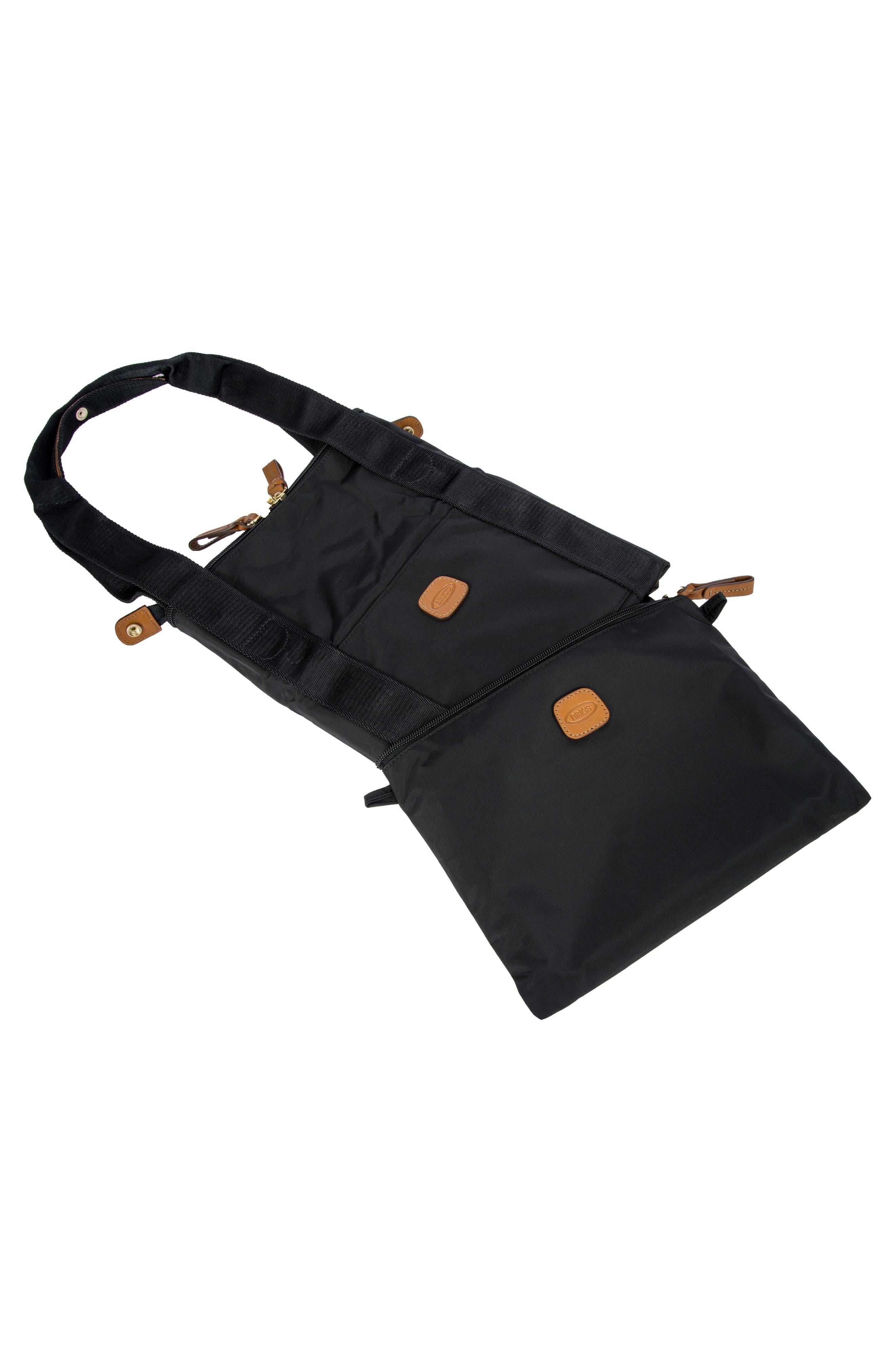 X-Bag 22-Inch Folding Duffel Bag,                             Alternate thumbnail 7, color,                             BLACK