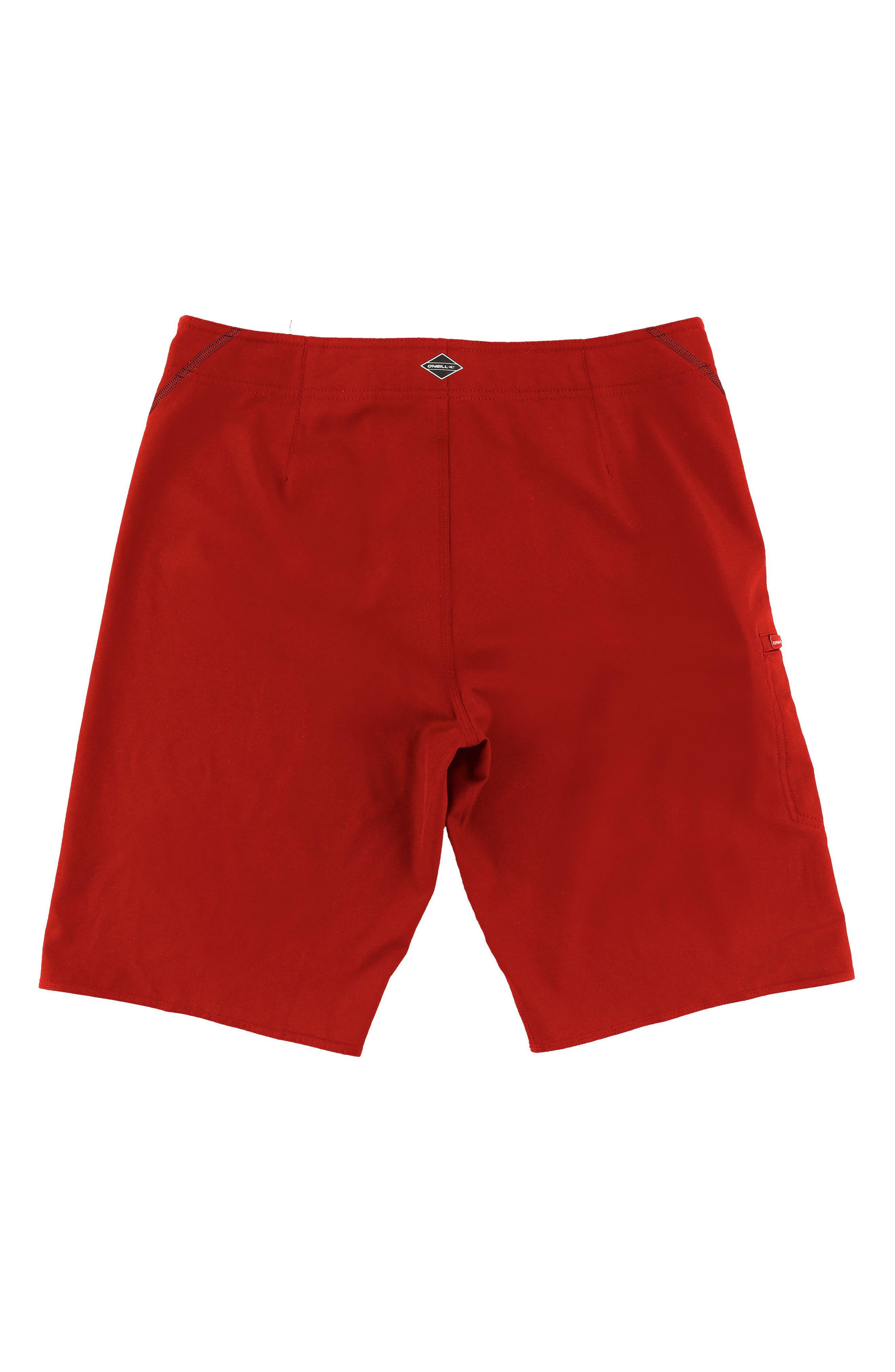 Hyperfreak S-Seam Stretch Board Shorts,                             Alternate thumbnail 7, color,