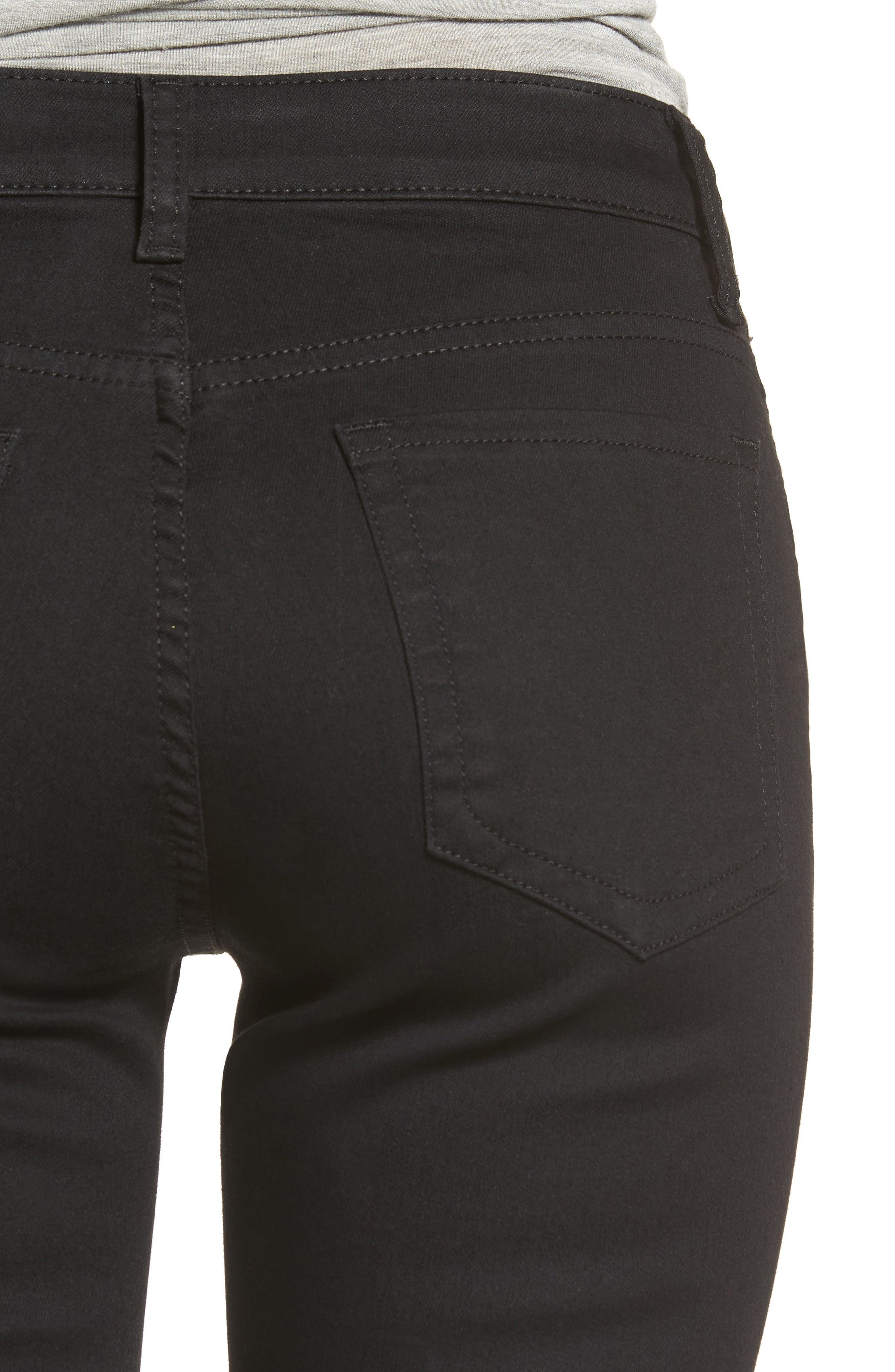 Diana Stretch Skinny Jeans,                             Alternate thumbnail 4, color,                             002