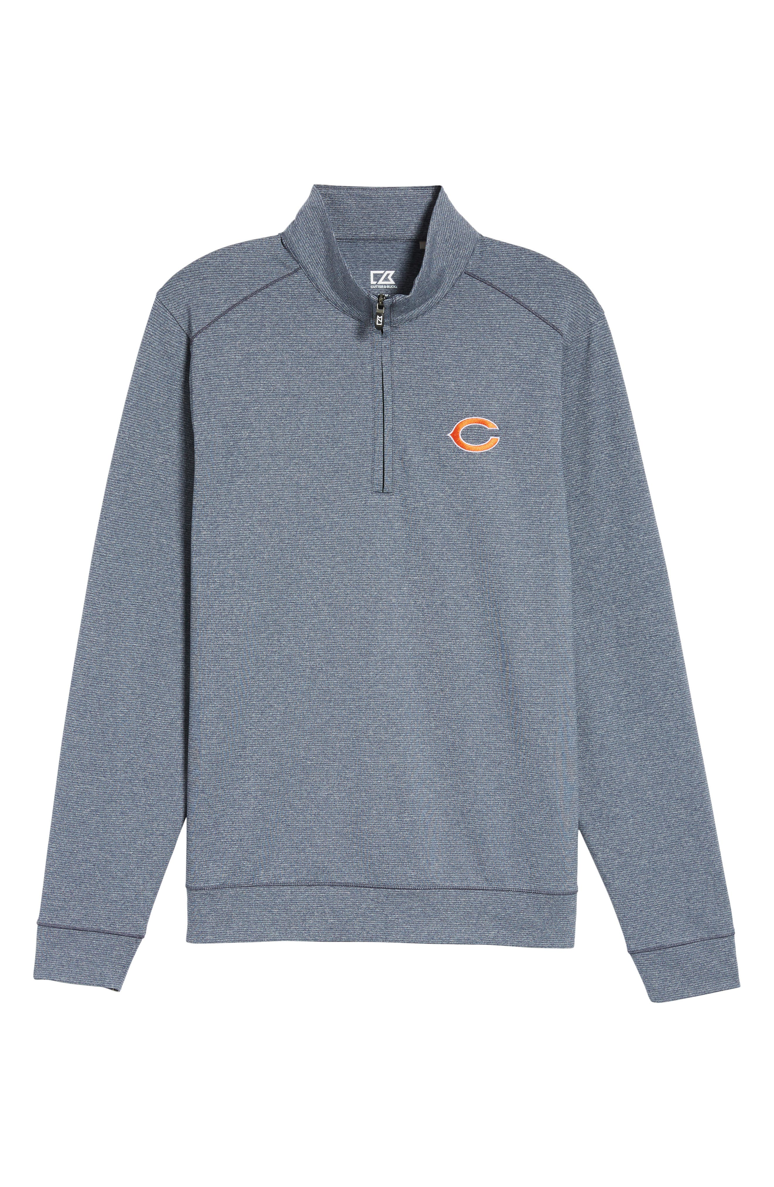 Shoreline - Chicago Bears Half Zip Pullover,                             Alternate thumbnail 6, color,                             976
