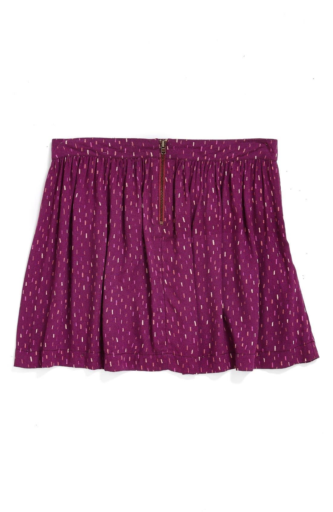 'Ambrosia' Woven Skirt,                             Alternate thumbnail 4, color,