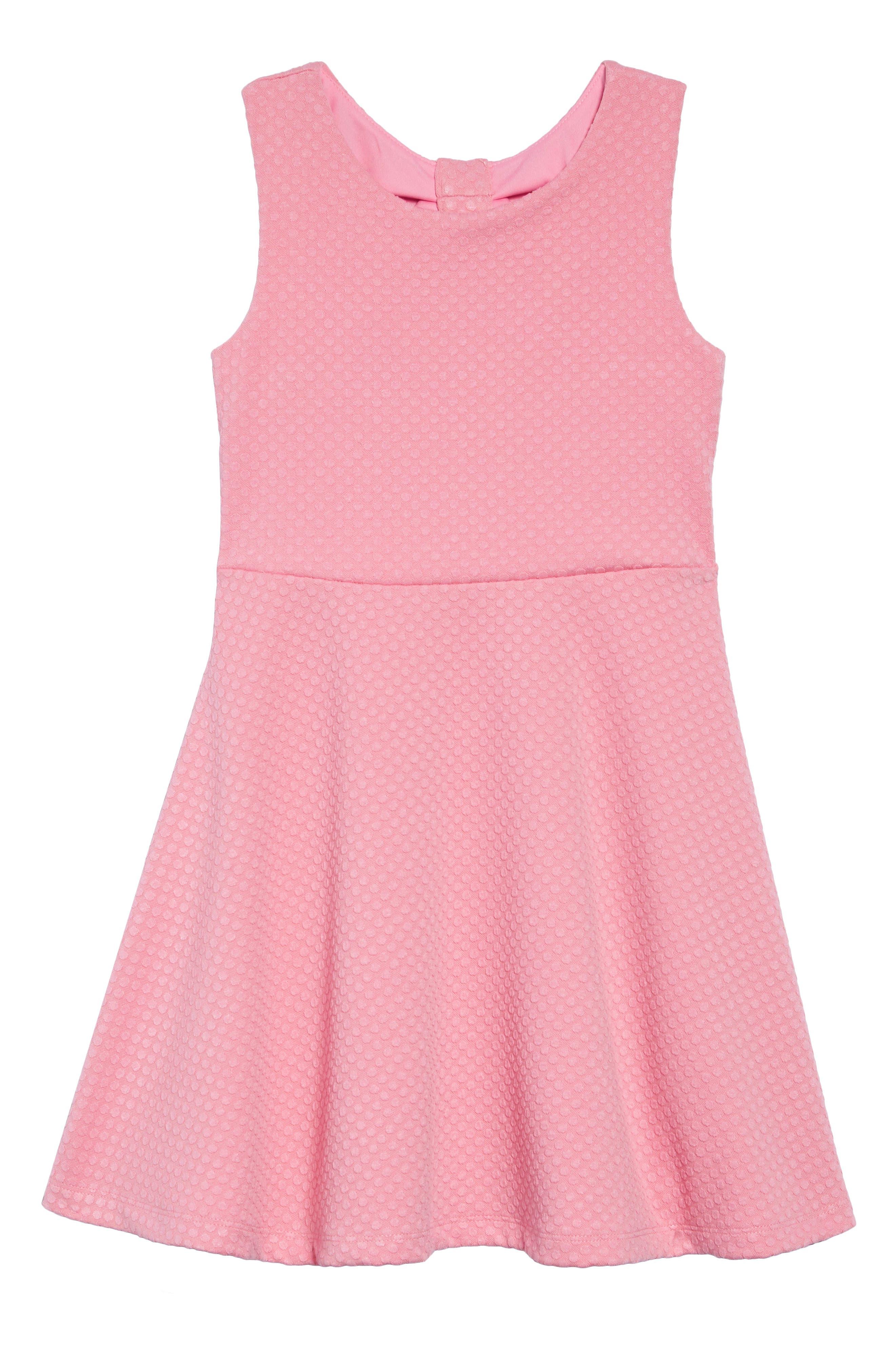 vivian textured dress,                         Main,                         color, ROSEBUD