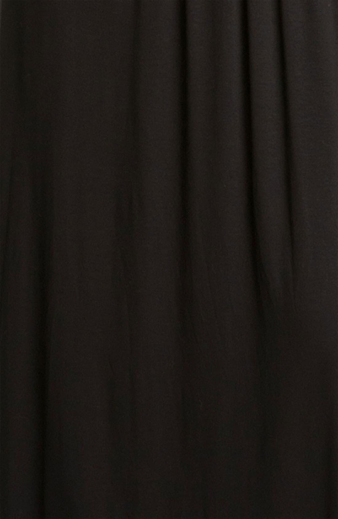 ---,                             Knit Maxi Dress,                             Alternate thumbnail 2, color,                             BLACK