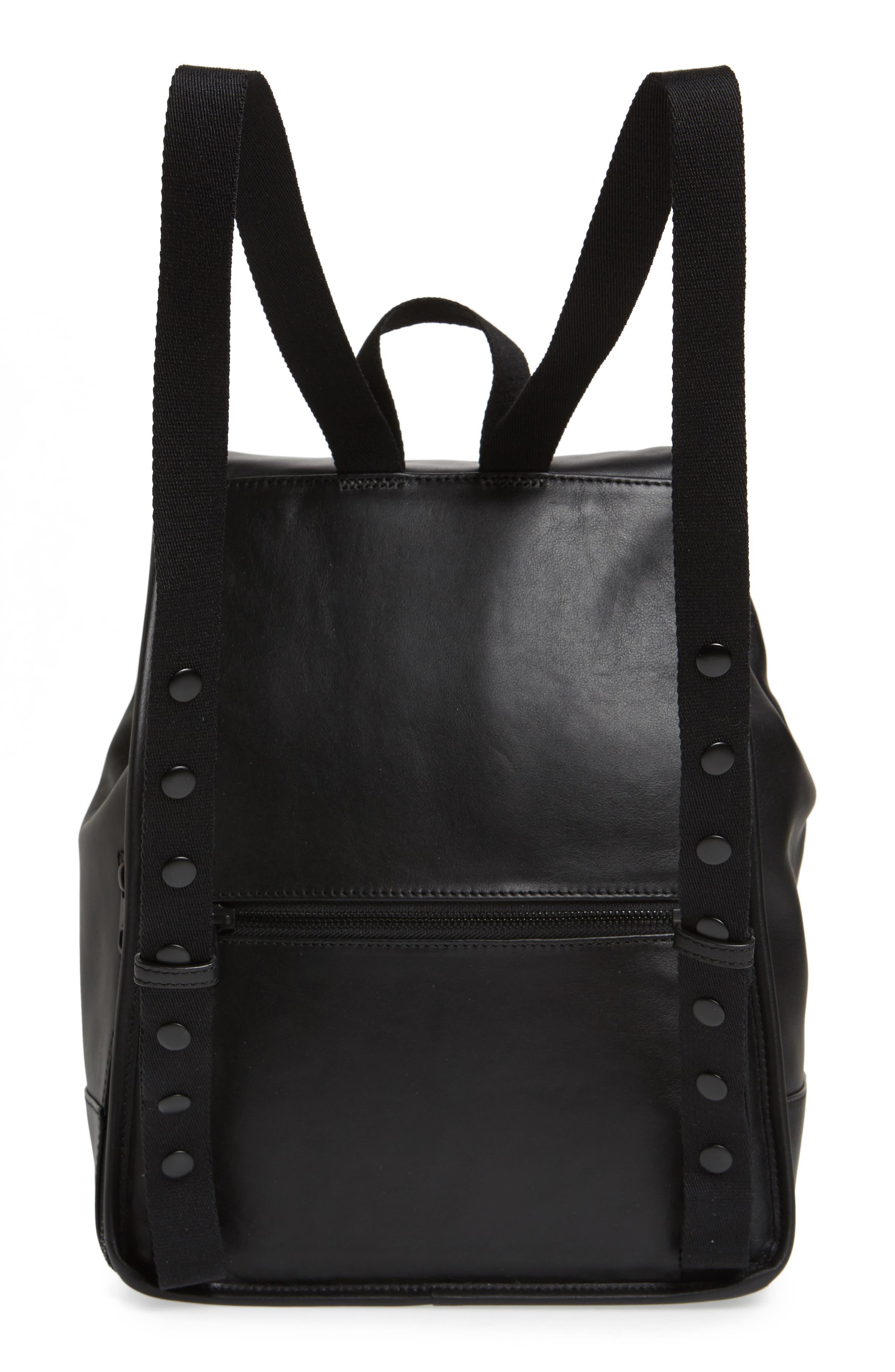 Parkville Hattie Leather Backpack,                             Alternate thumbnail 3, color,                             001