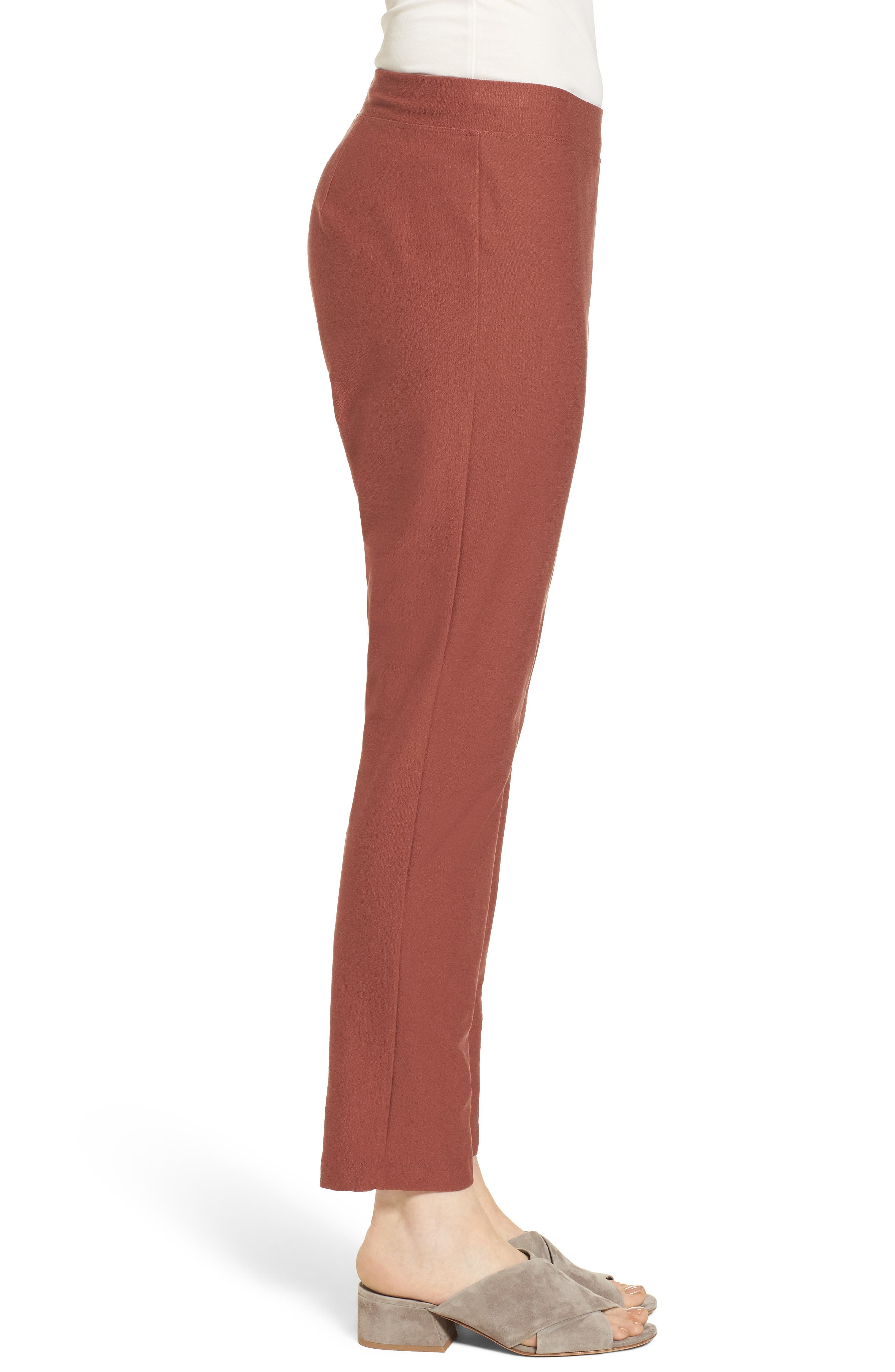 Stretch Crepe Slim Ankle Pants,                             Alternate thumbnail 53, color,