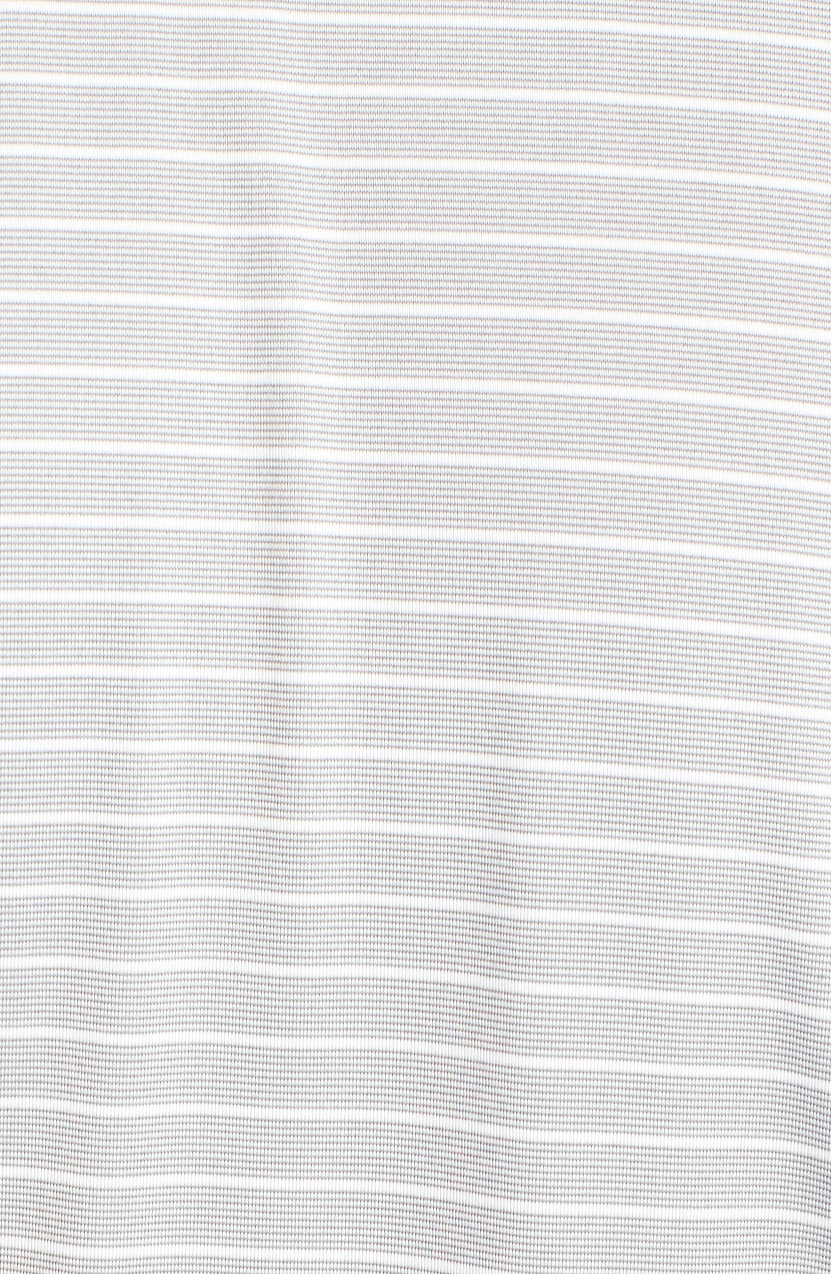 Oakland Raiders - Meridian Half Zip Pullover,                             Alternate thumbnail 5, color,                             BLACK