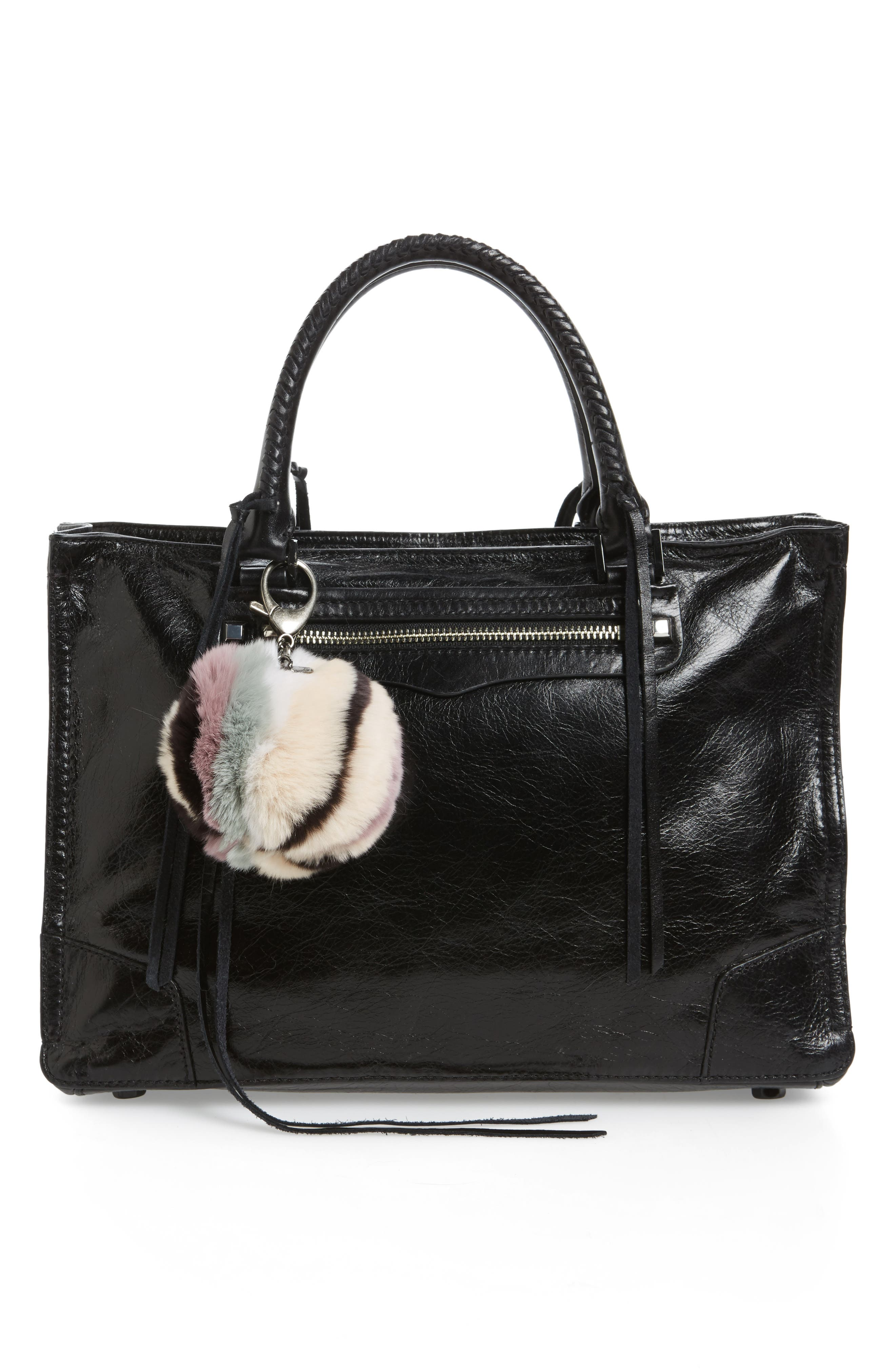 Genuine Fox Fur Bag Charm,                             Alternate thumbnail 2, color,                             279